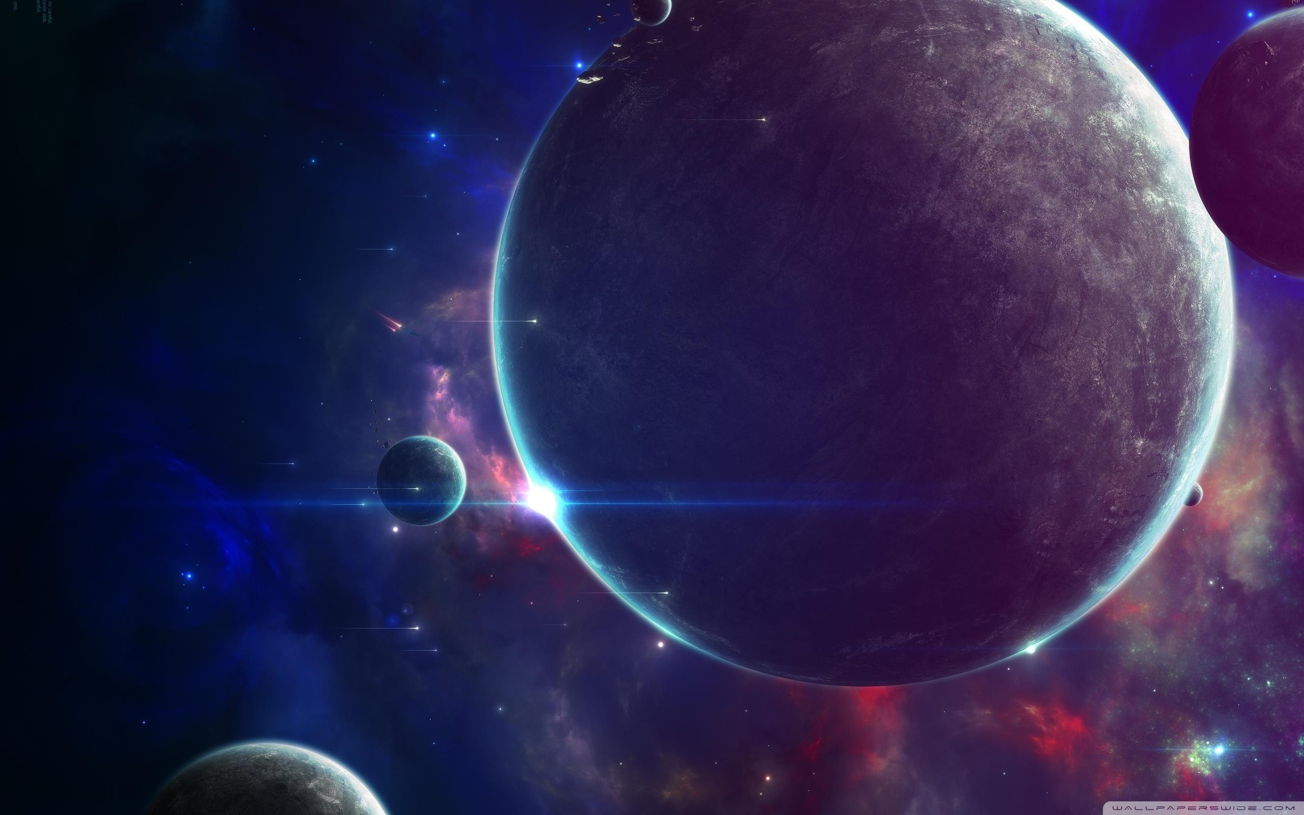 Download Close Planets Art HD Wallpapers
