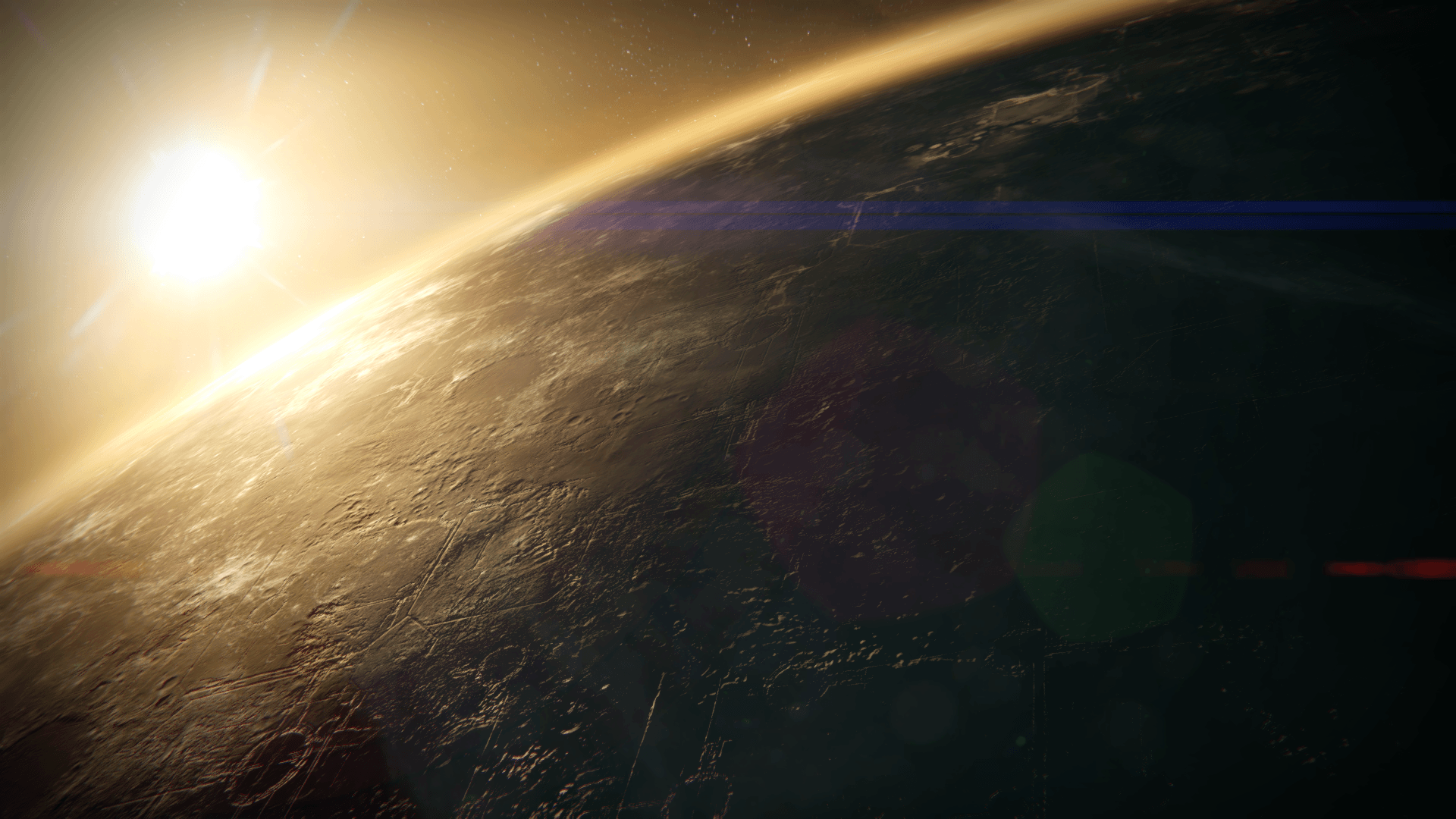 Wallpapers of the 6 areas we can orbit : DestinyTheGame