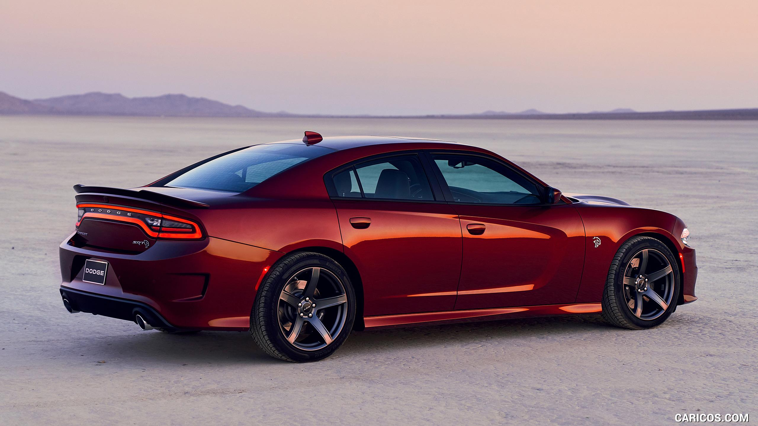 2019 Dodge Charger Srt Hellcat Rear Three Quarter Hd Wallpapers 4