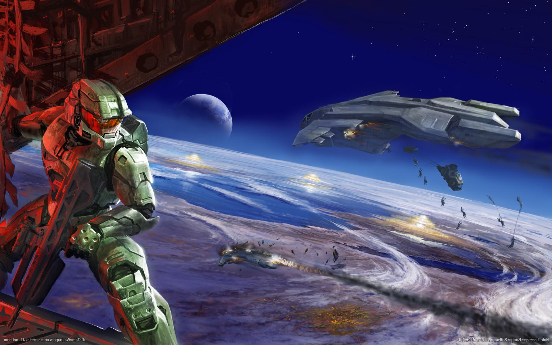 Wallpapers : 1920x1200 px, artwork, Bungie, Halo 2, Halo 3, Master