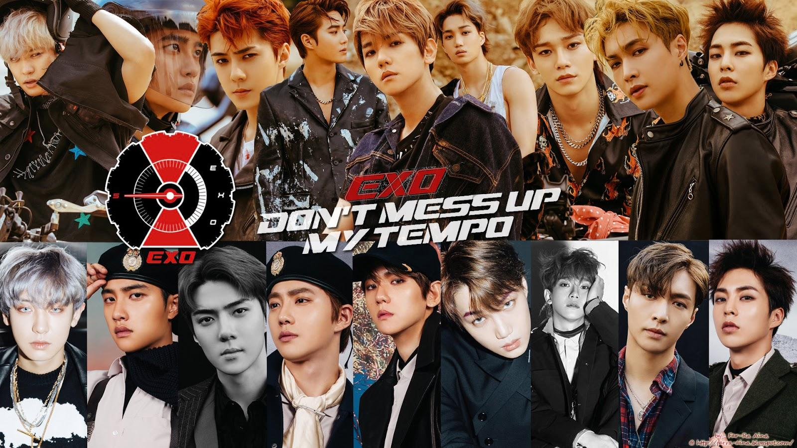 EXO Tempo Wallpapers - Wallpaper Cave