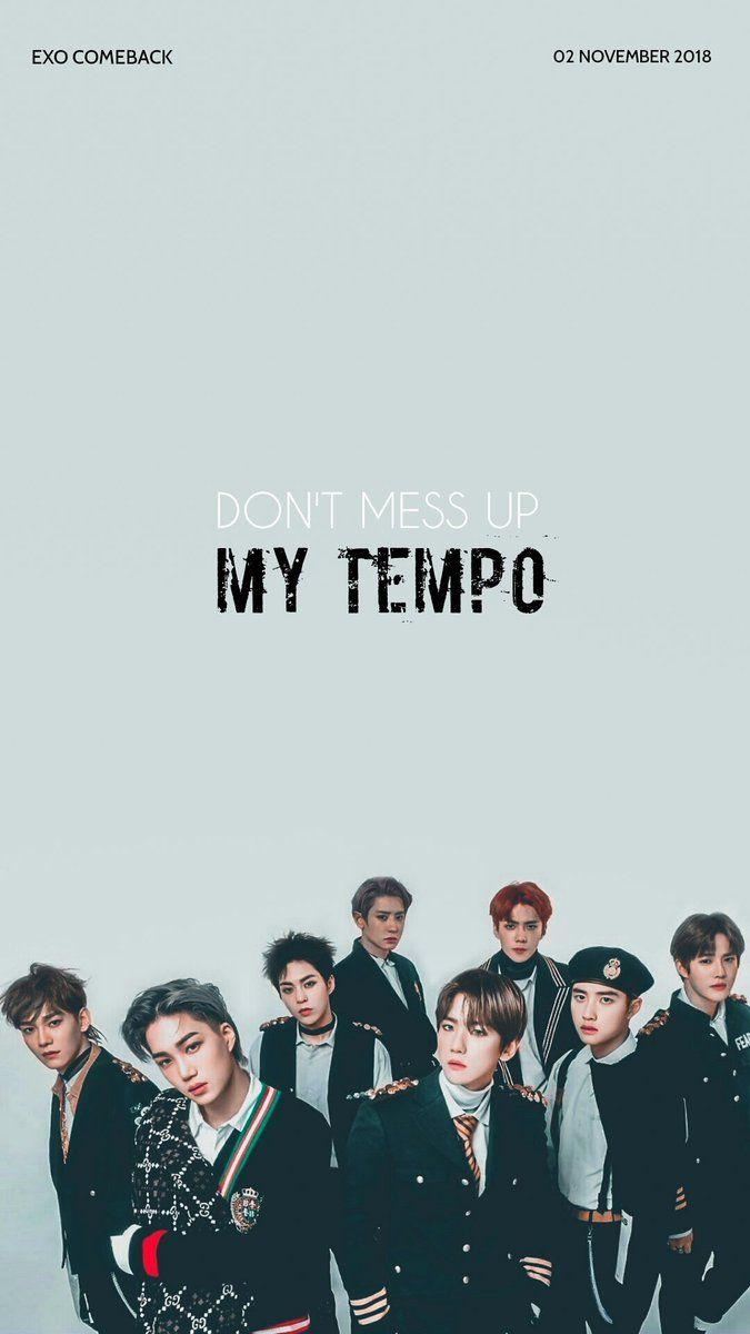 EXO WALLPAPER on ในปี 2019 | wallpaper K-pop | Pinterest | EXO Exo
