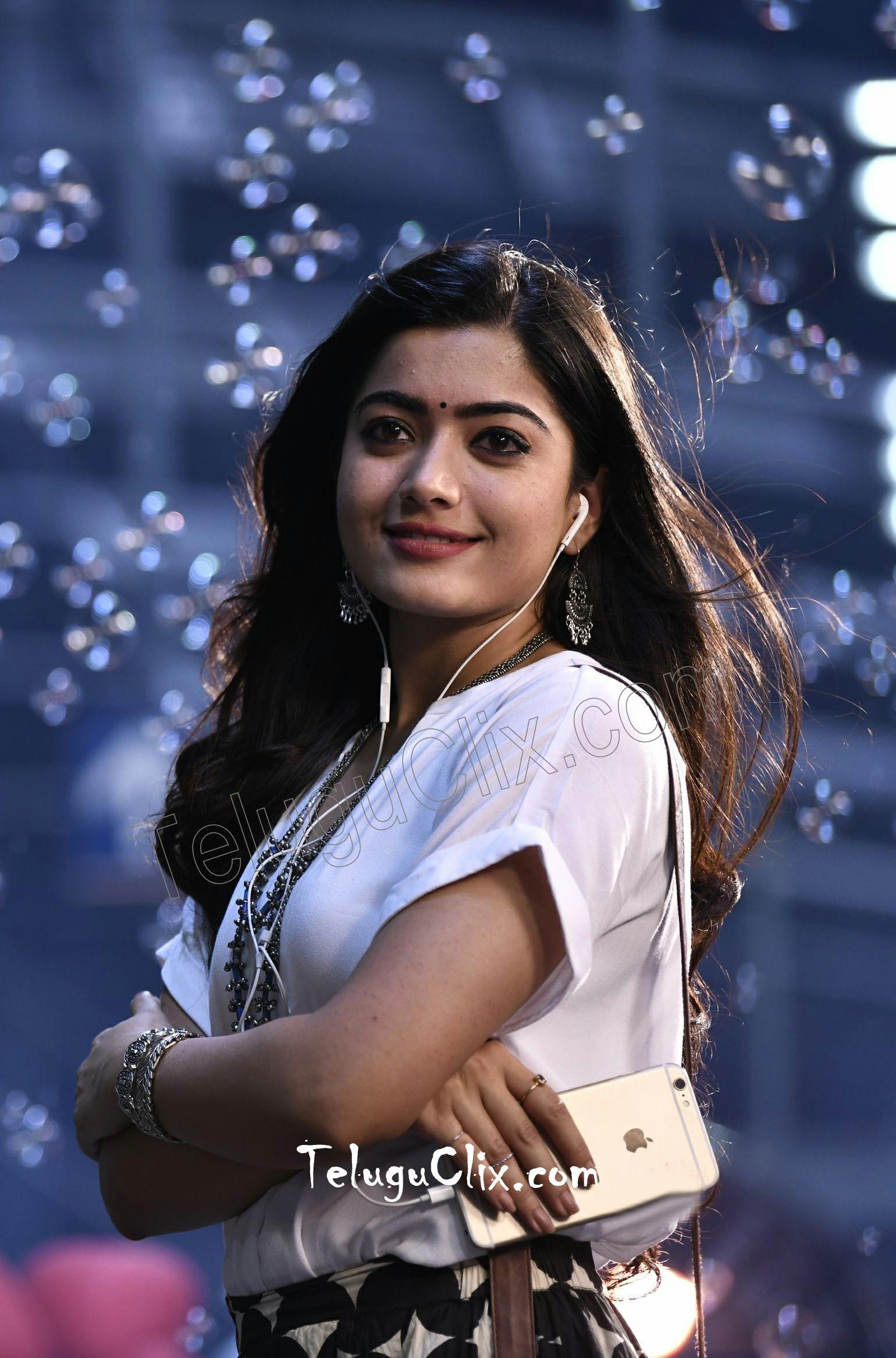 Rashmika Mandanna in From Devadas Movie HD HQ Photos image Pics Stills