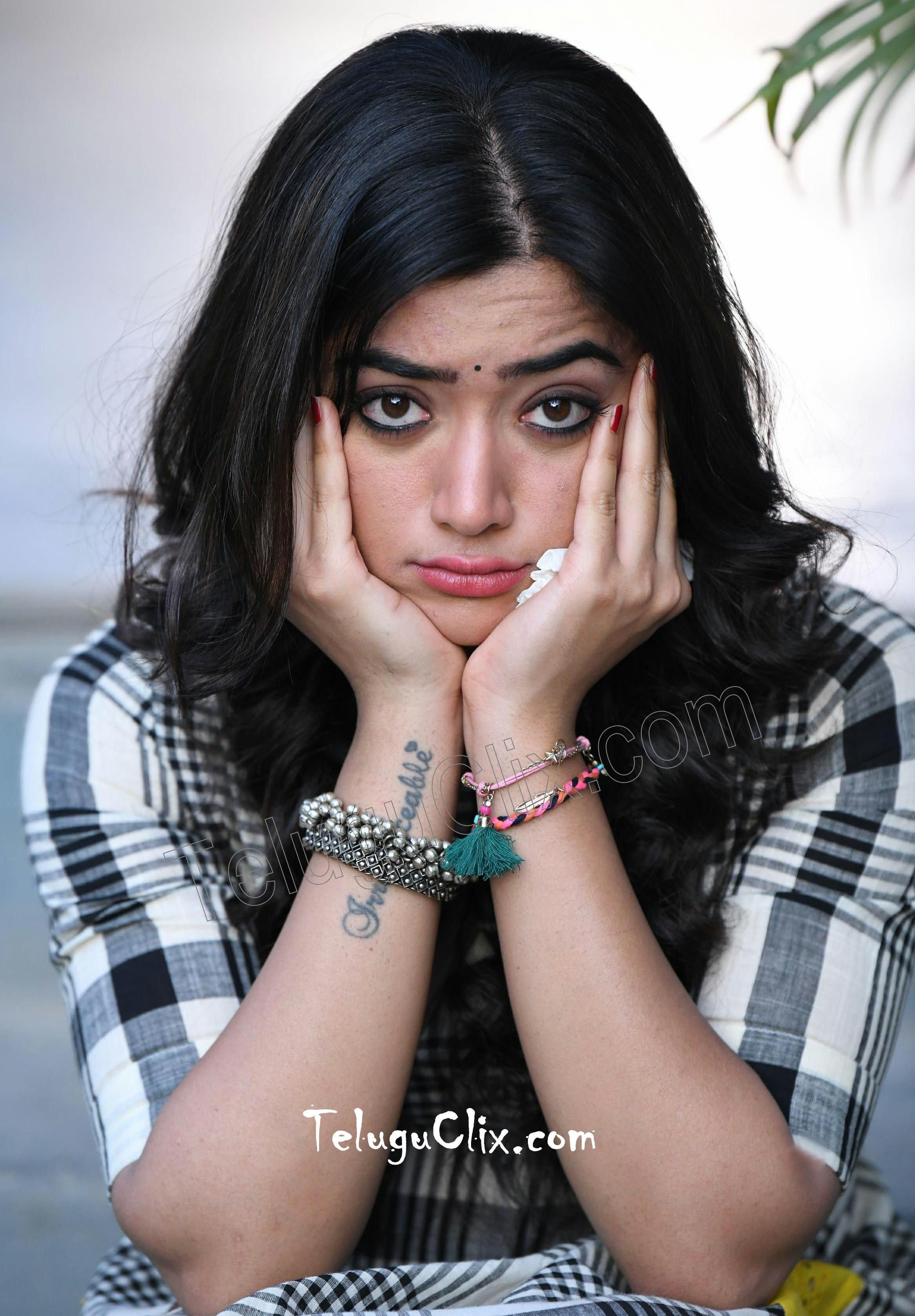 Rashmika Mandanna in From Devadas Movie HD HQ Photos image Pics Stills