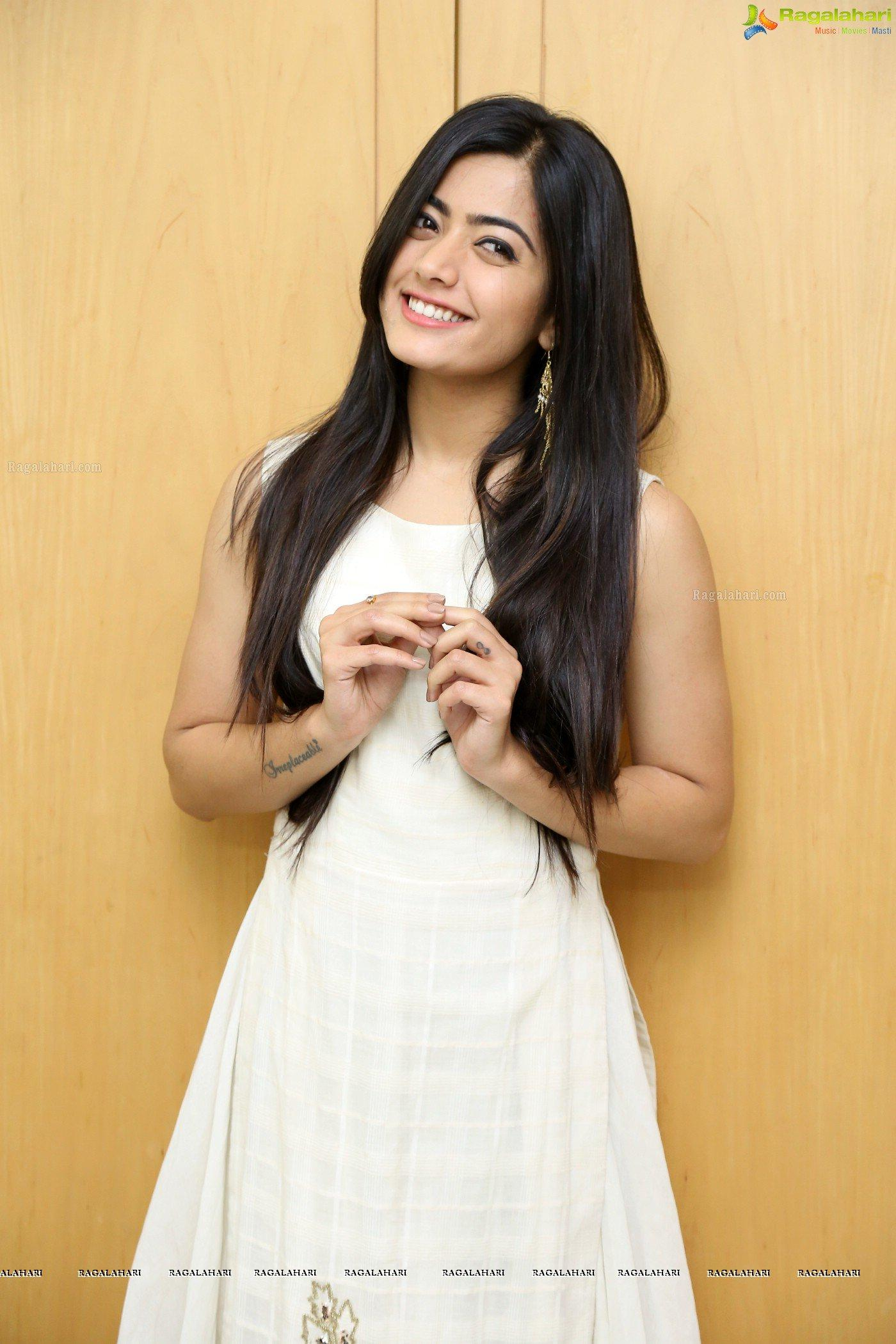 Rashmika Mandanna at Chalo Interview Image 50