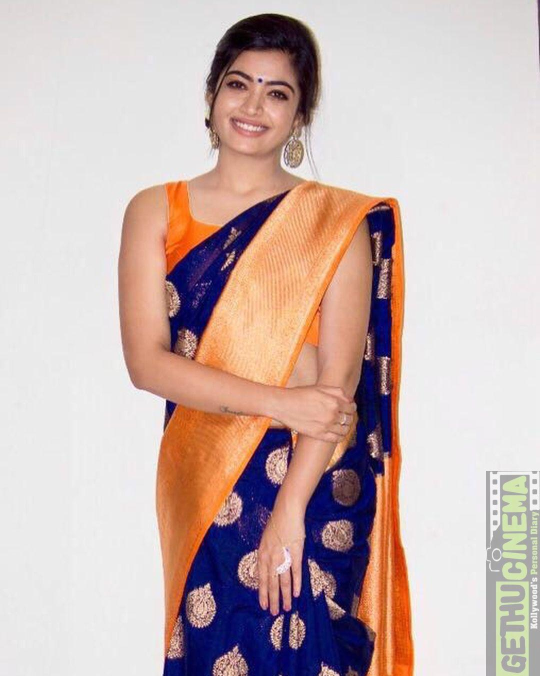Geetha Govindam Actress Rashmika Mandanna 2018 Cute Image