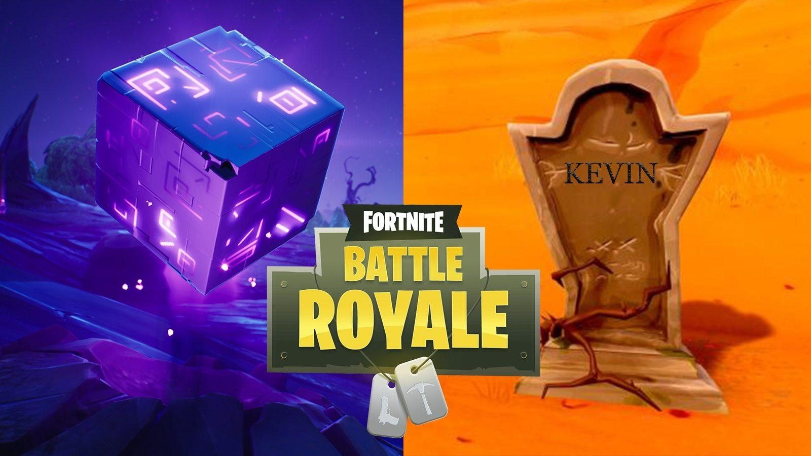 This Fortnite concept skin celebrates Kevin the Cube's final moments