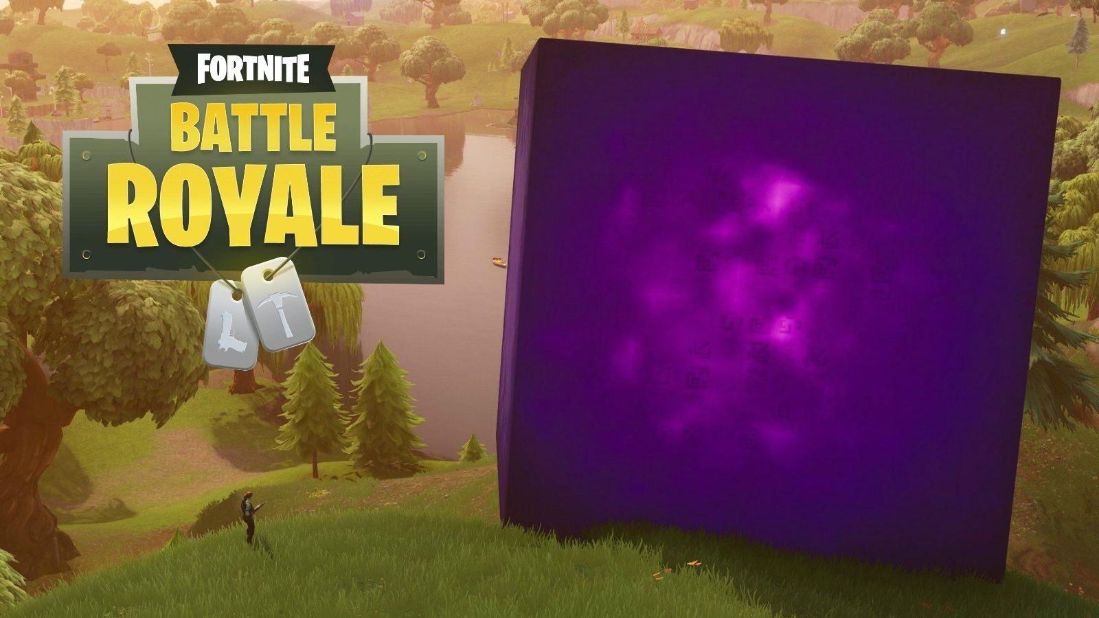 Fortnite players have spotted Kevin the Cube in