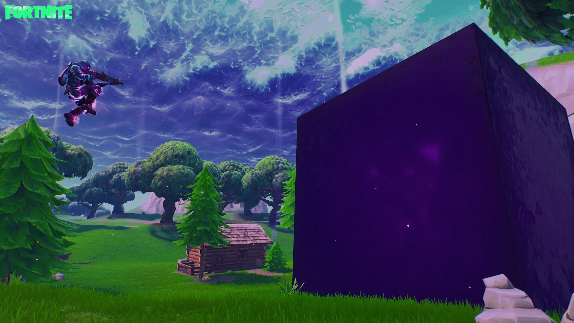 wallpapers cube fortnite epic games