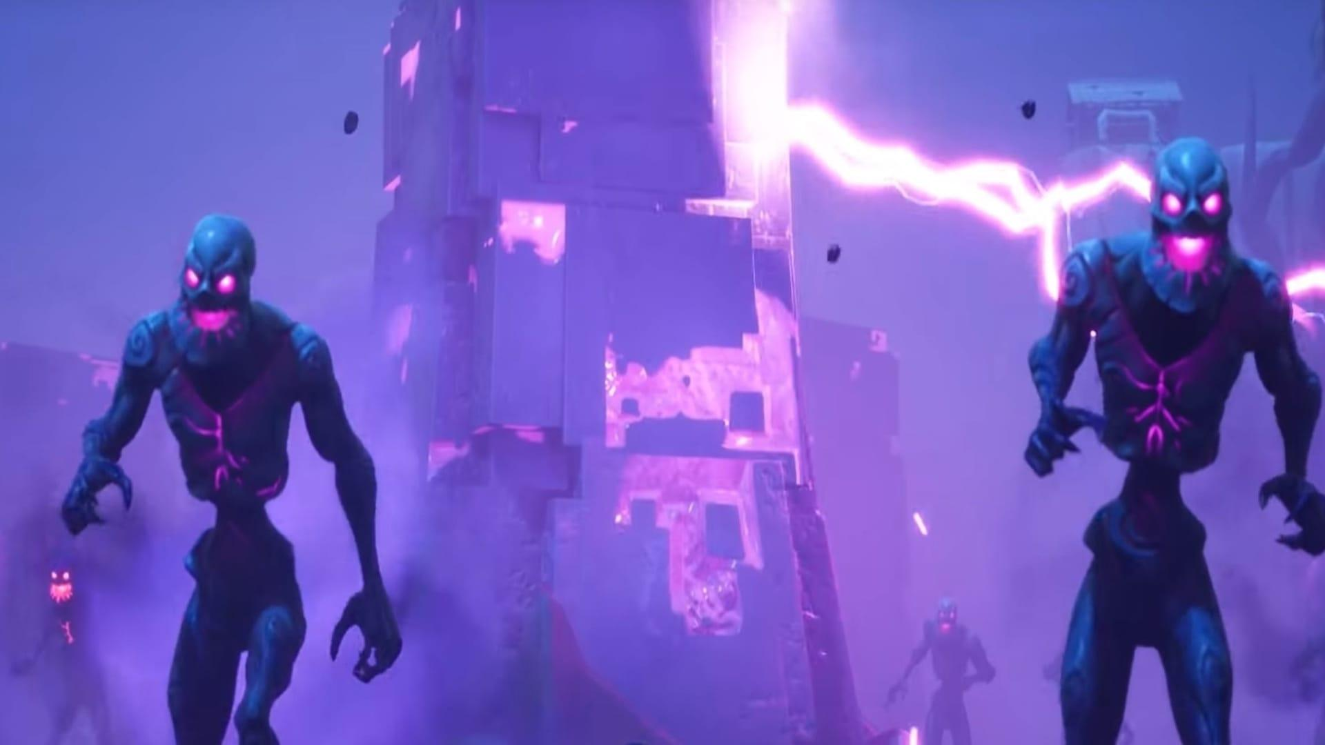 Fortnite's purple cube, Kevin, will explode