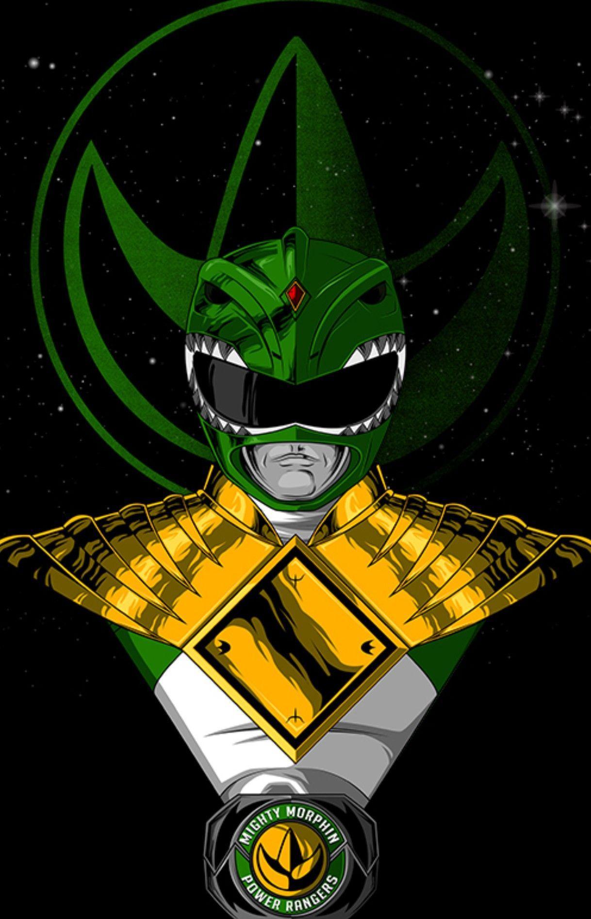 Green Power Ranger Phone Wallpapers - Wallpaper Cave