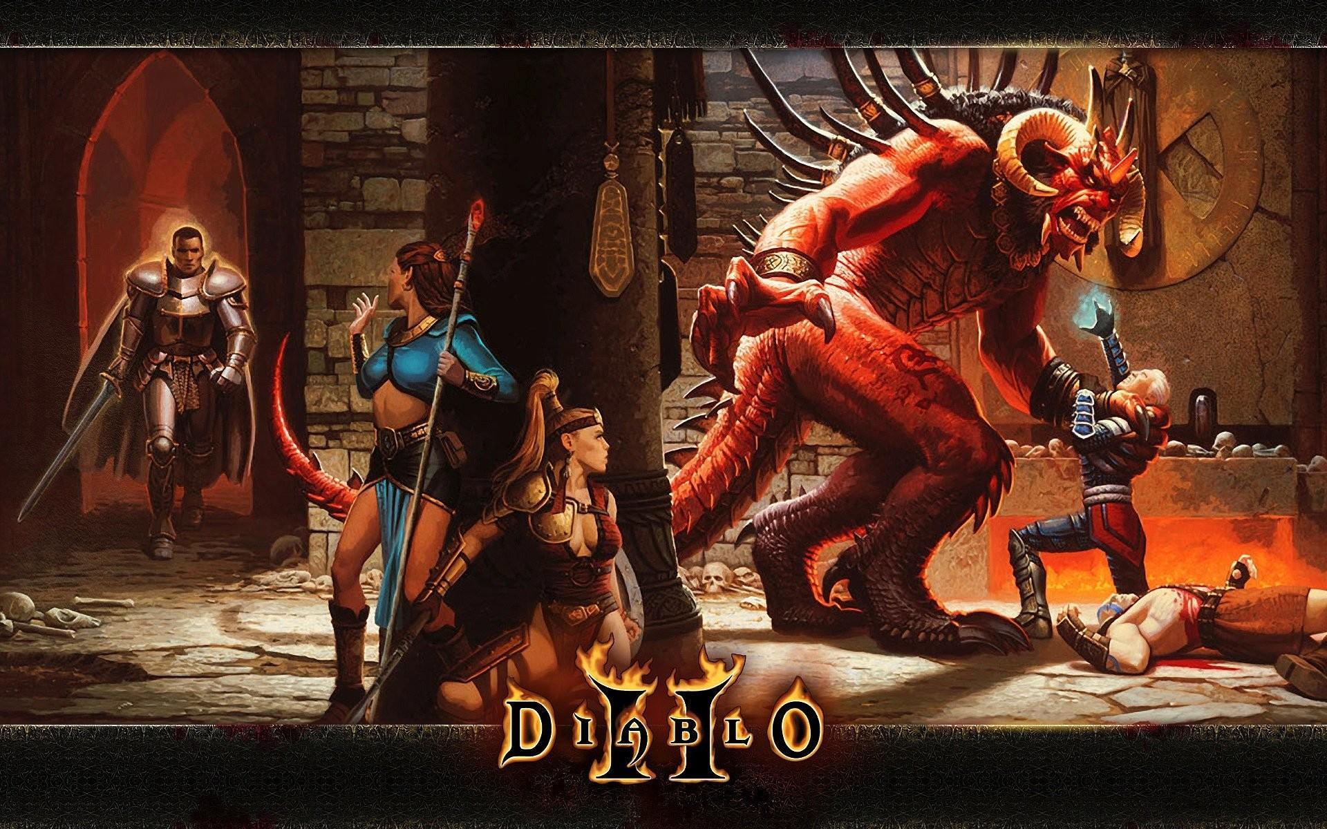 لعبة ديابلو 2 افضل العاب للاجهزة الضعيفة