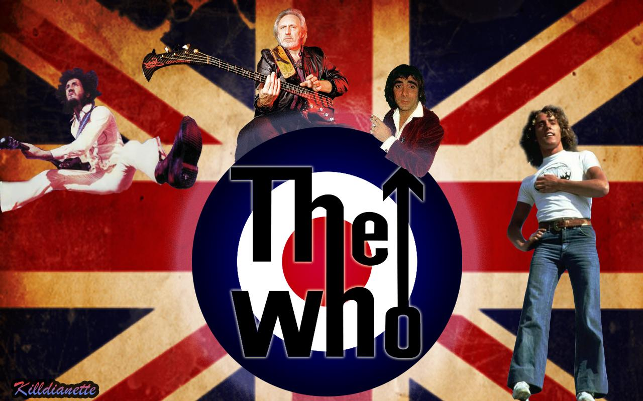 Metalpaper: The Who Wallpapers