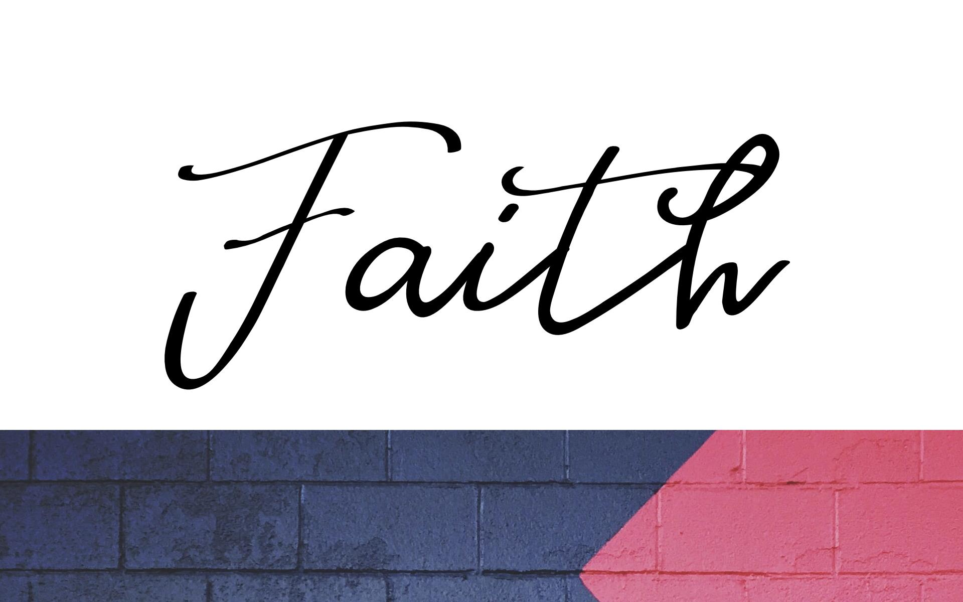 Faith Wallpapers - Wallpaper Cave