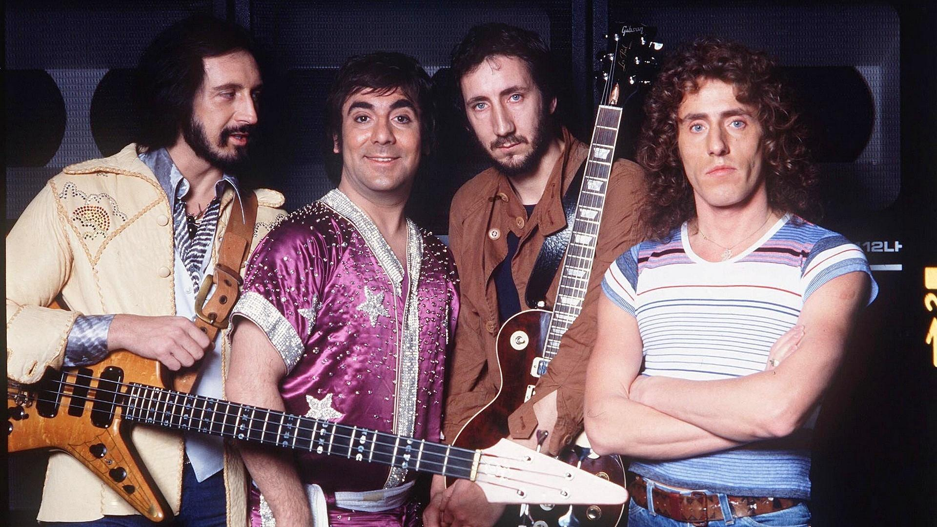 Download wallpapers 1920x1080 the who, guitars, youth, band, smile hd