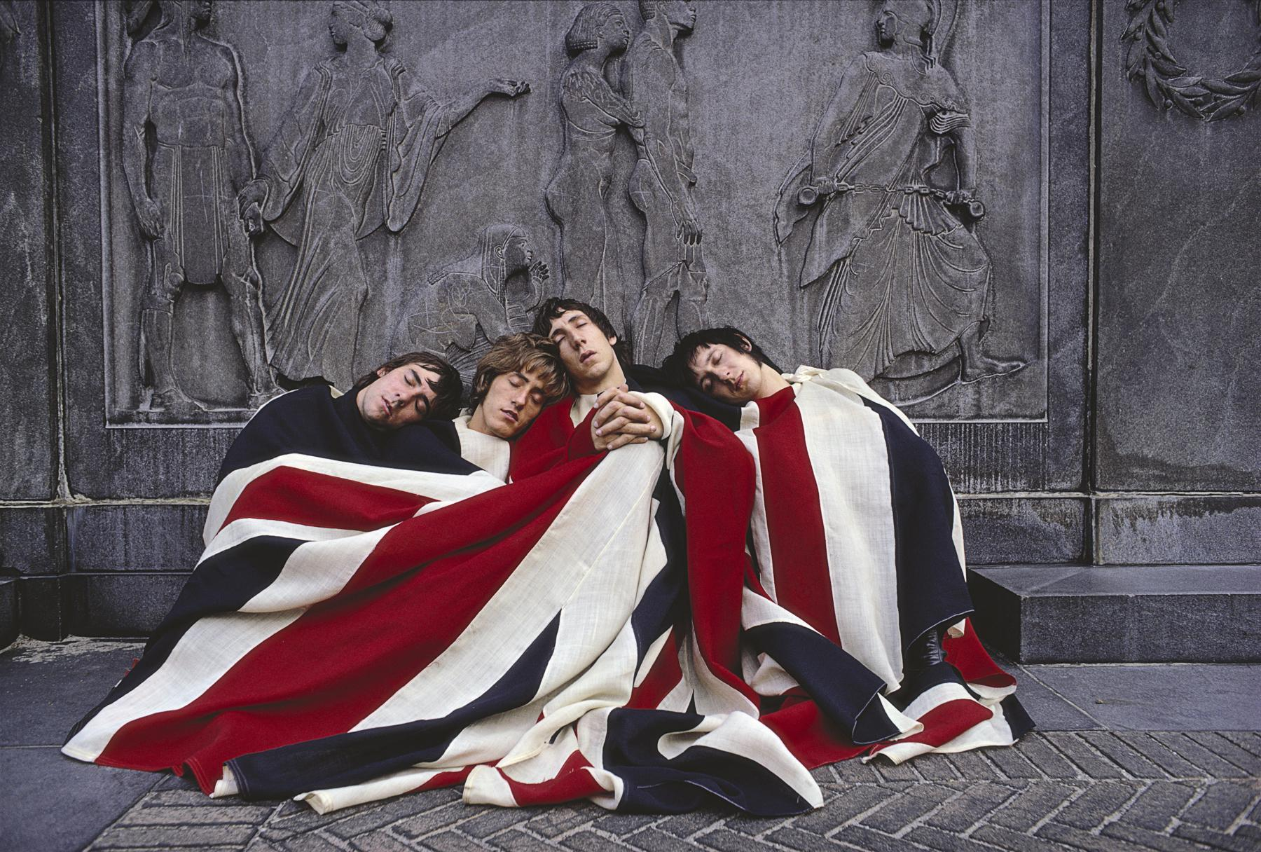 music, flags, The Who, Pete Townshend, British, music bands