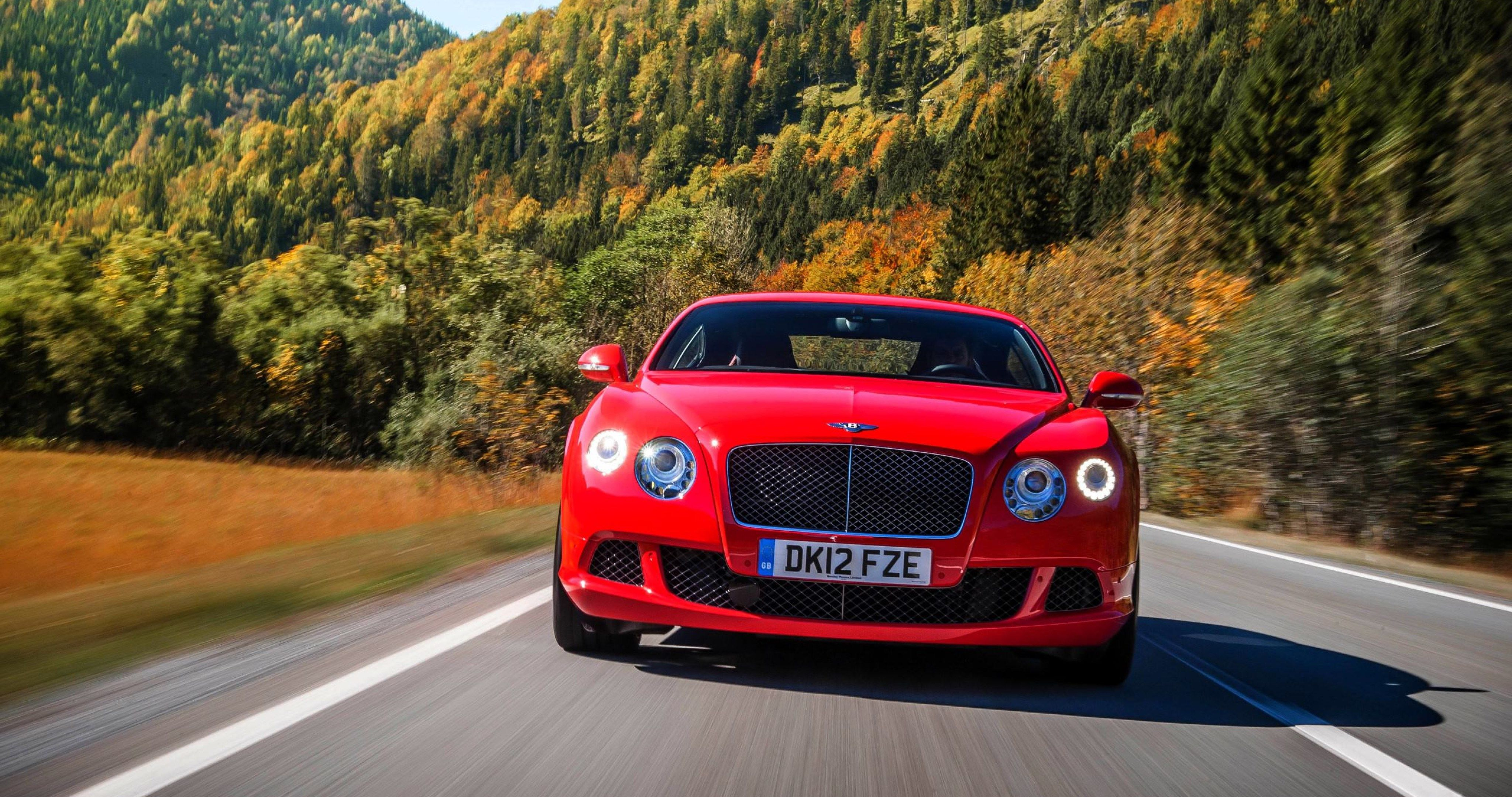 bentley continental gt red 4k ultra hd wallpapers