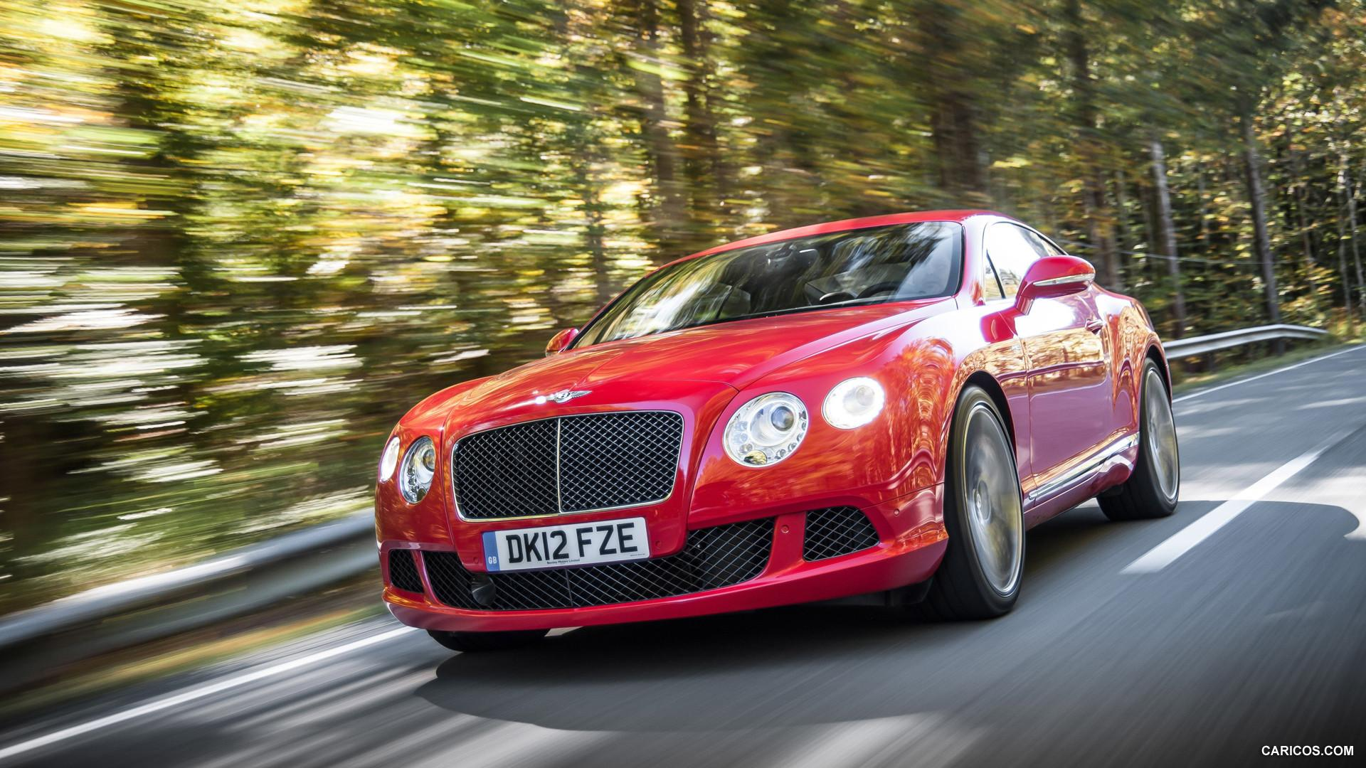 2013 Bentley Continental GT Speed St James Red