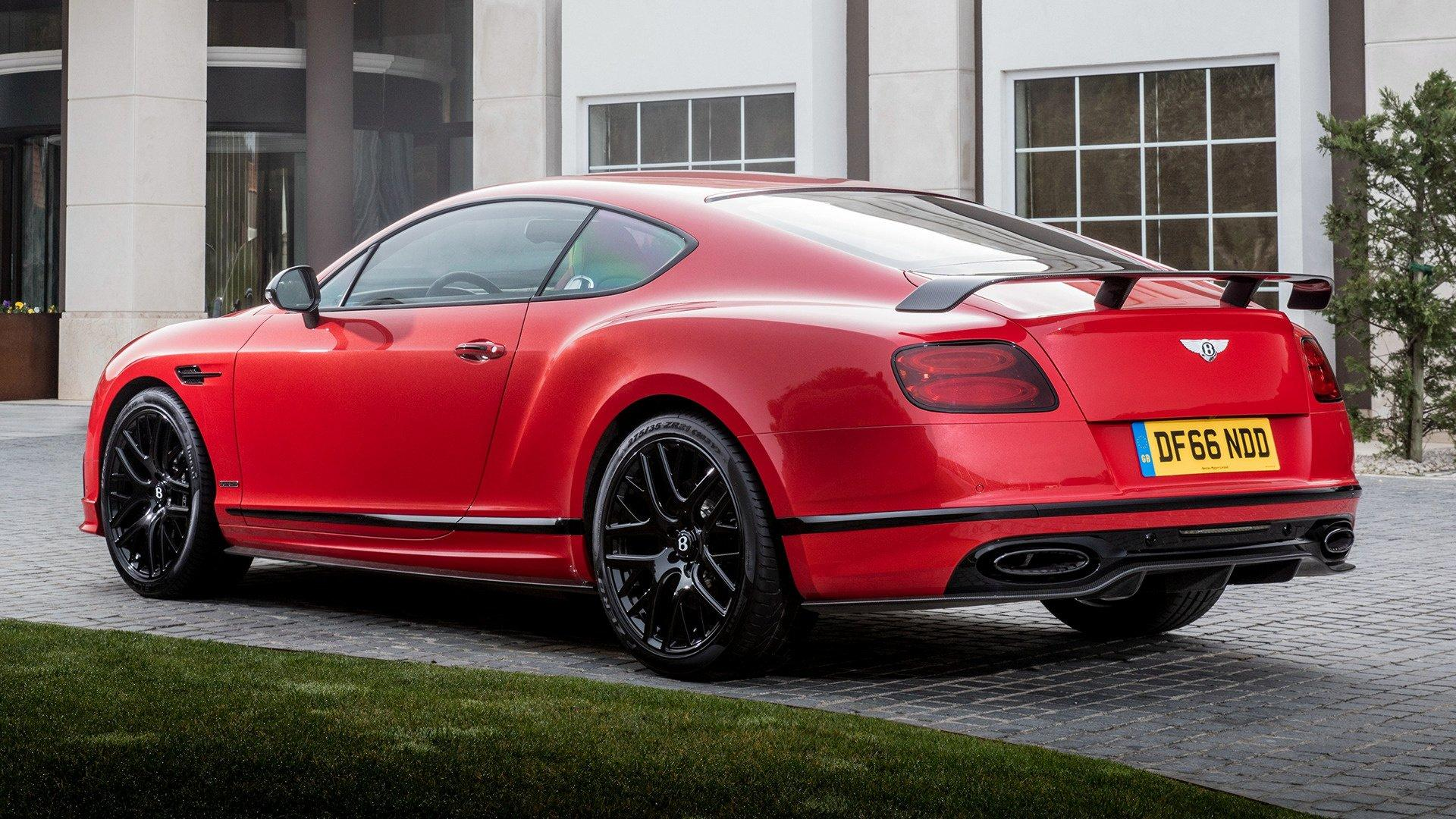 2017 Bentley Continental Supersports HD Wallpapers