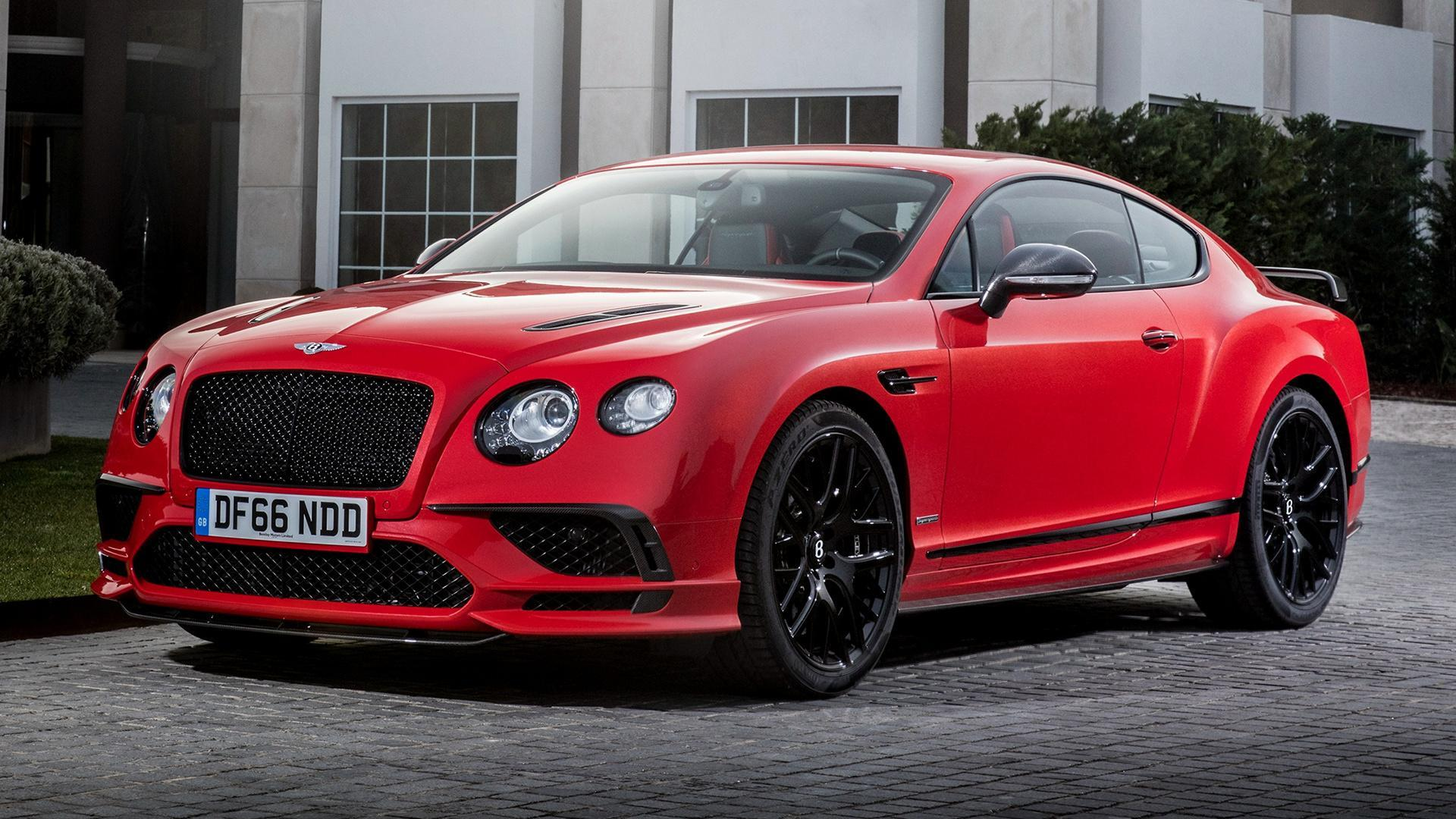 Bentley Continental Supersports Convertible Wallpapers HD 14