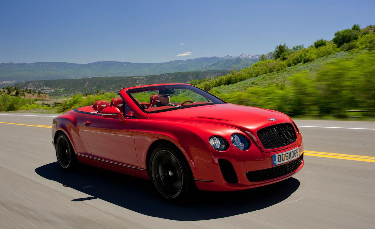 Bentley Continental Supersports Convertible Wallpapers HD 12