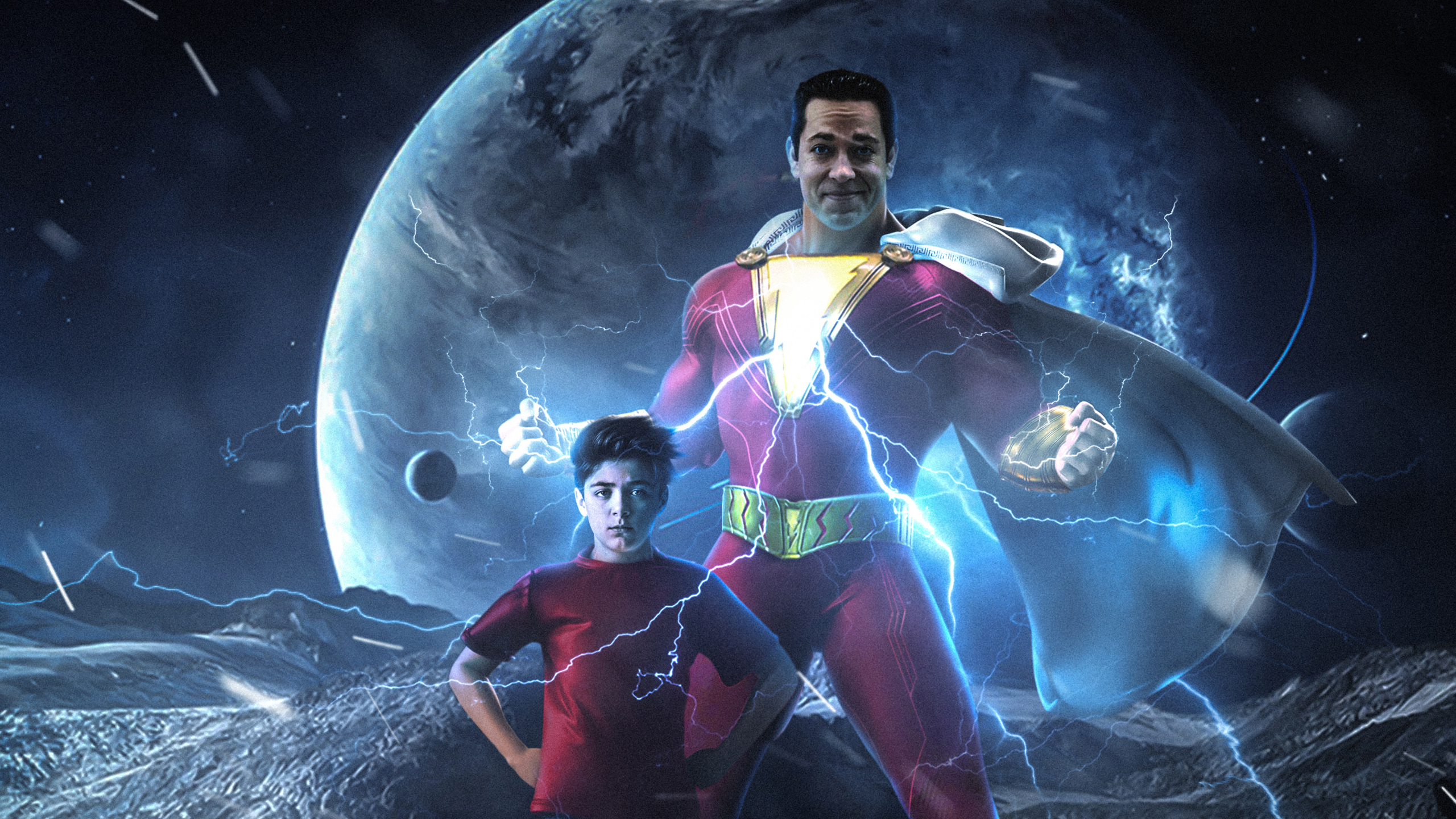 Shazam Movie Wallpapers Wallpaper Cave