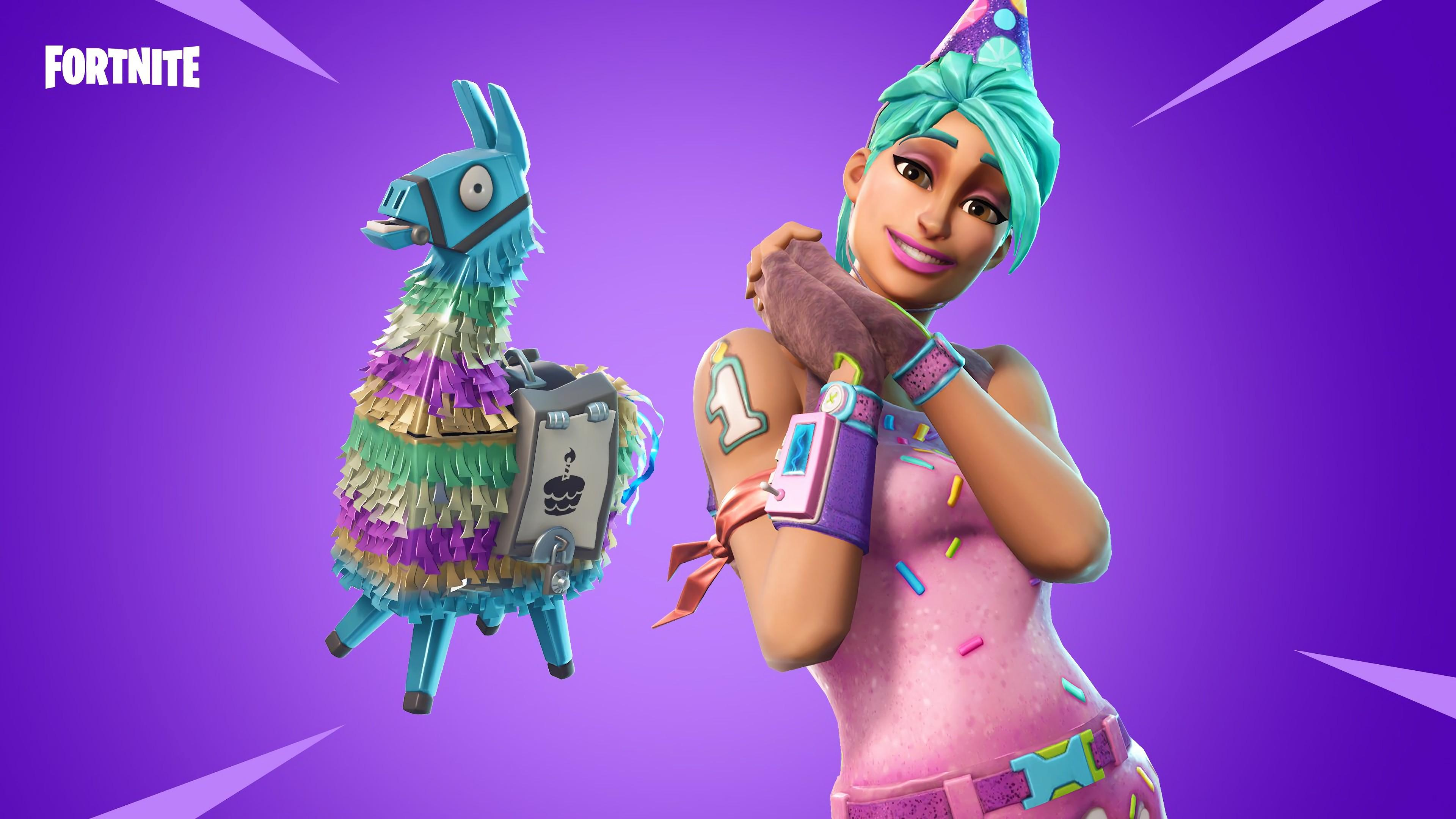 Wallpaper Fortnite, screenshot, 4K, Games #19923