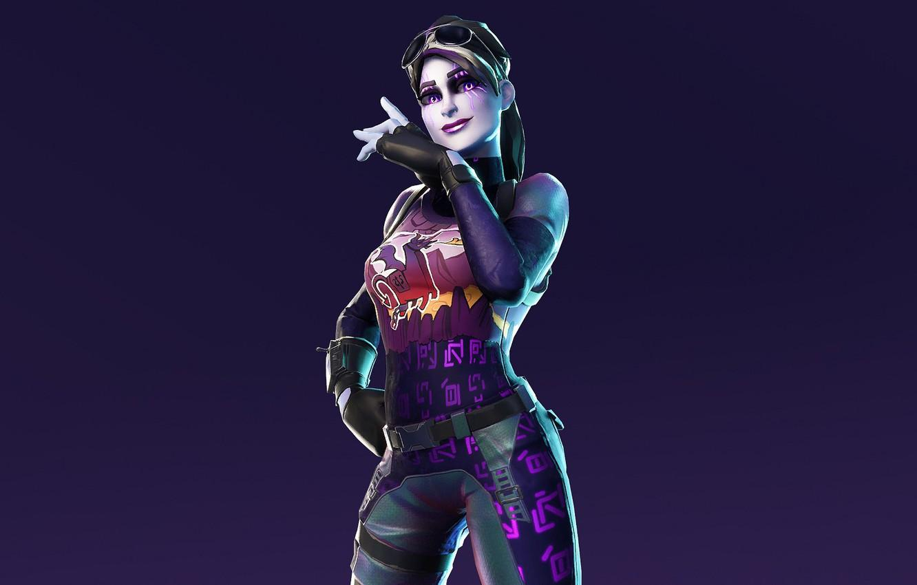 Wallpaper girl, background, the game, Fortnite images for desktop ...