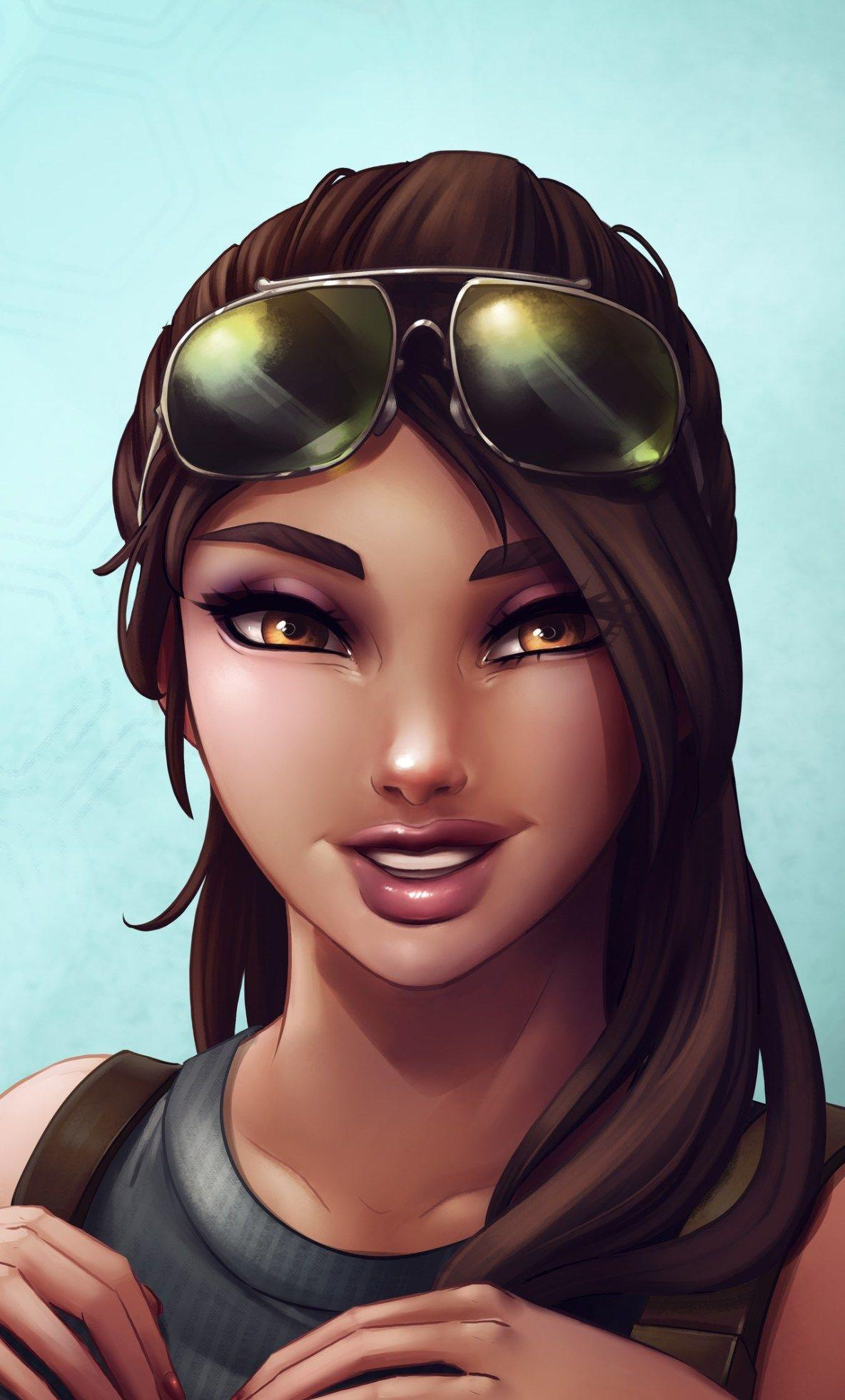 Fortnite Girl Wallpapers - Top Free Fortnite Girl Backgrounds ...