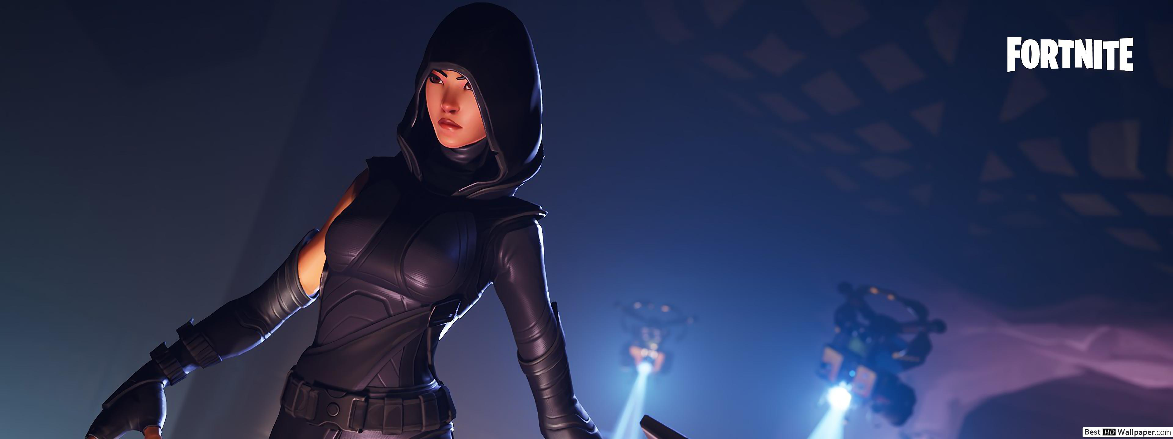 Fortnite fate outfit skin HD wallpaper download