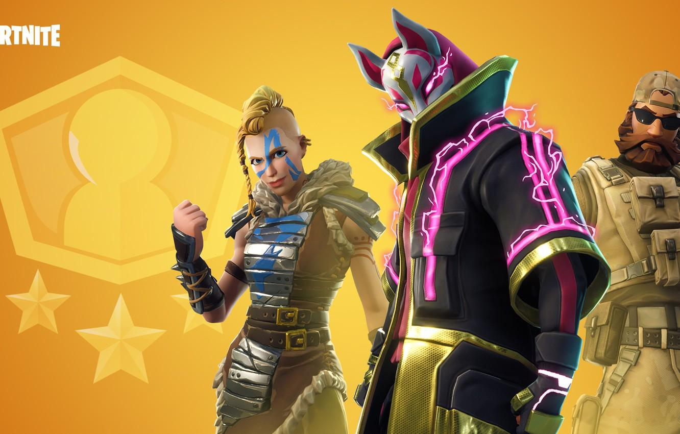 Wallpaper girl, the game, man, mask, cloak, characters, Fortnite ...
