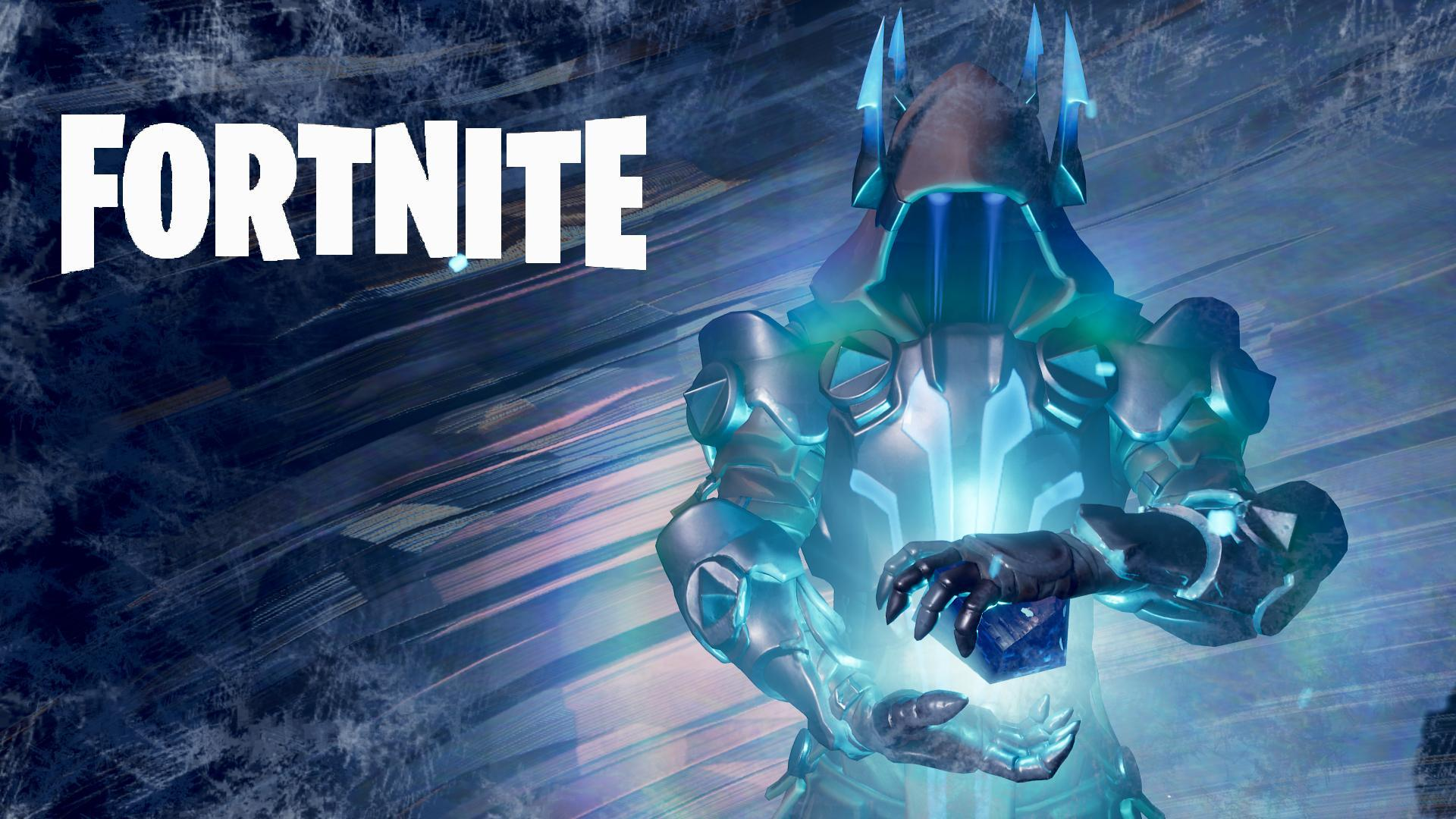 Fortnite Ice King Event Wallpapers I made with Replay Mode.