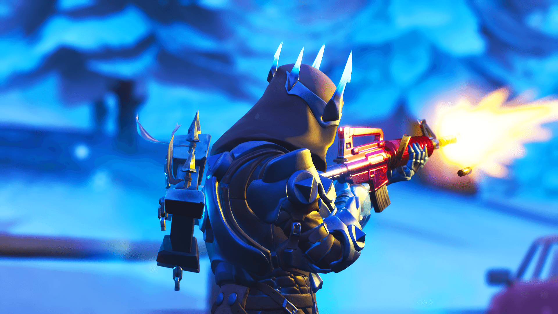 The Ice King Fortnite Wallpapers