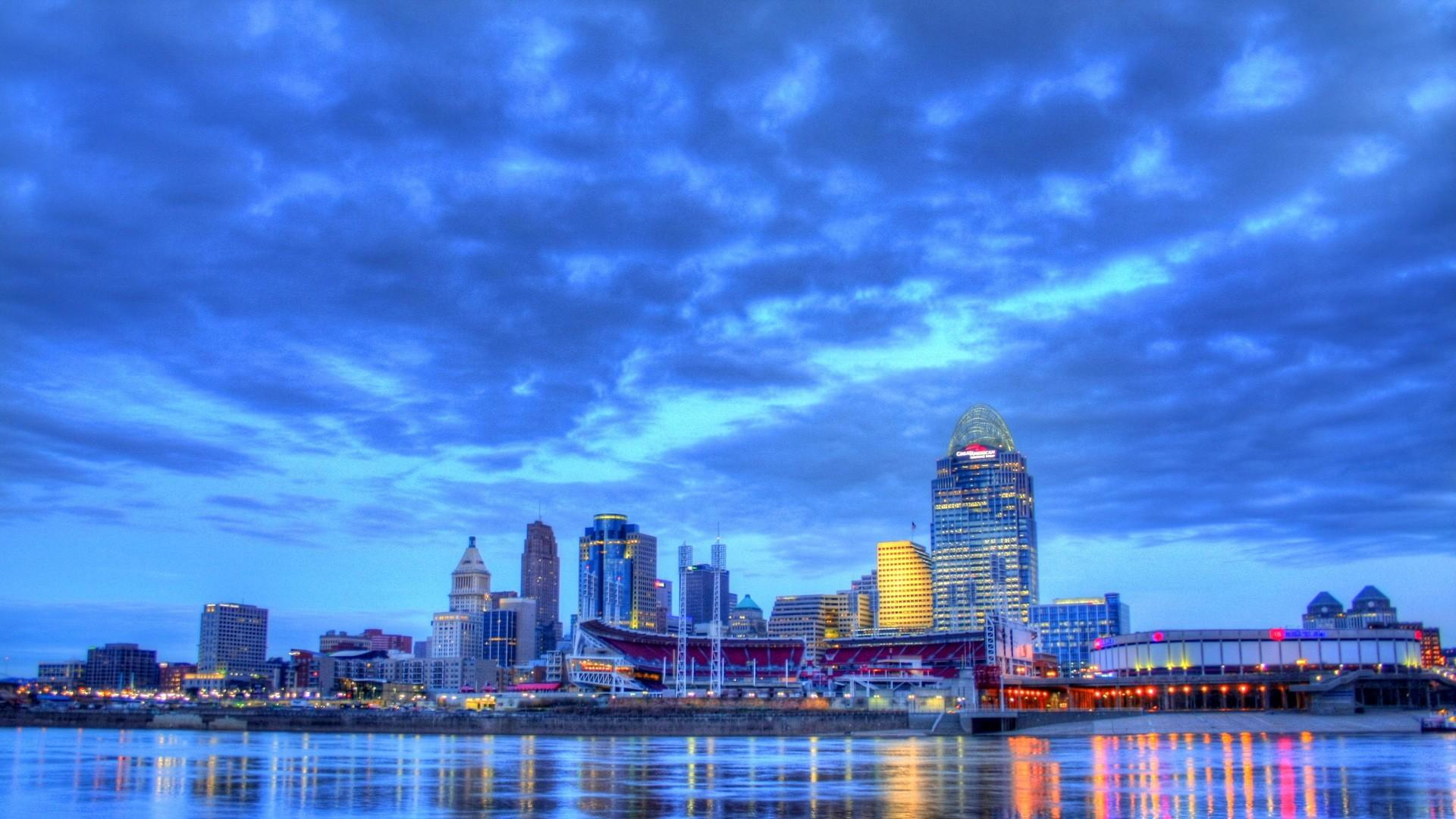 Beautiful nashville tennessee riverfront hdr wallpapers