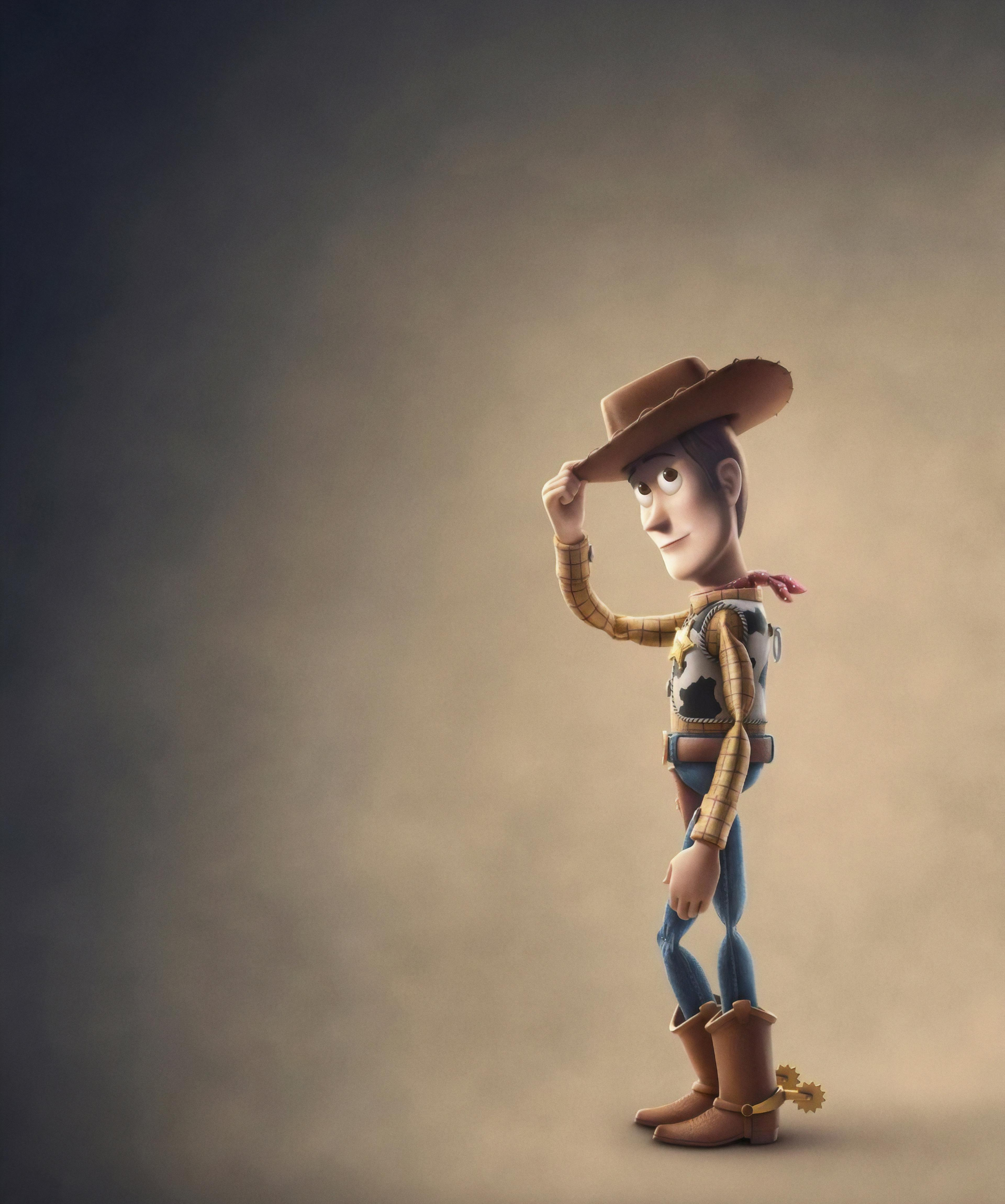 Wallpaper Toy Story 4, Woody, Animation, Pixar, 4K, Movies, #16683