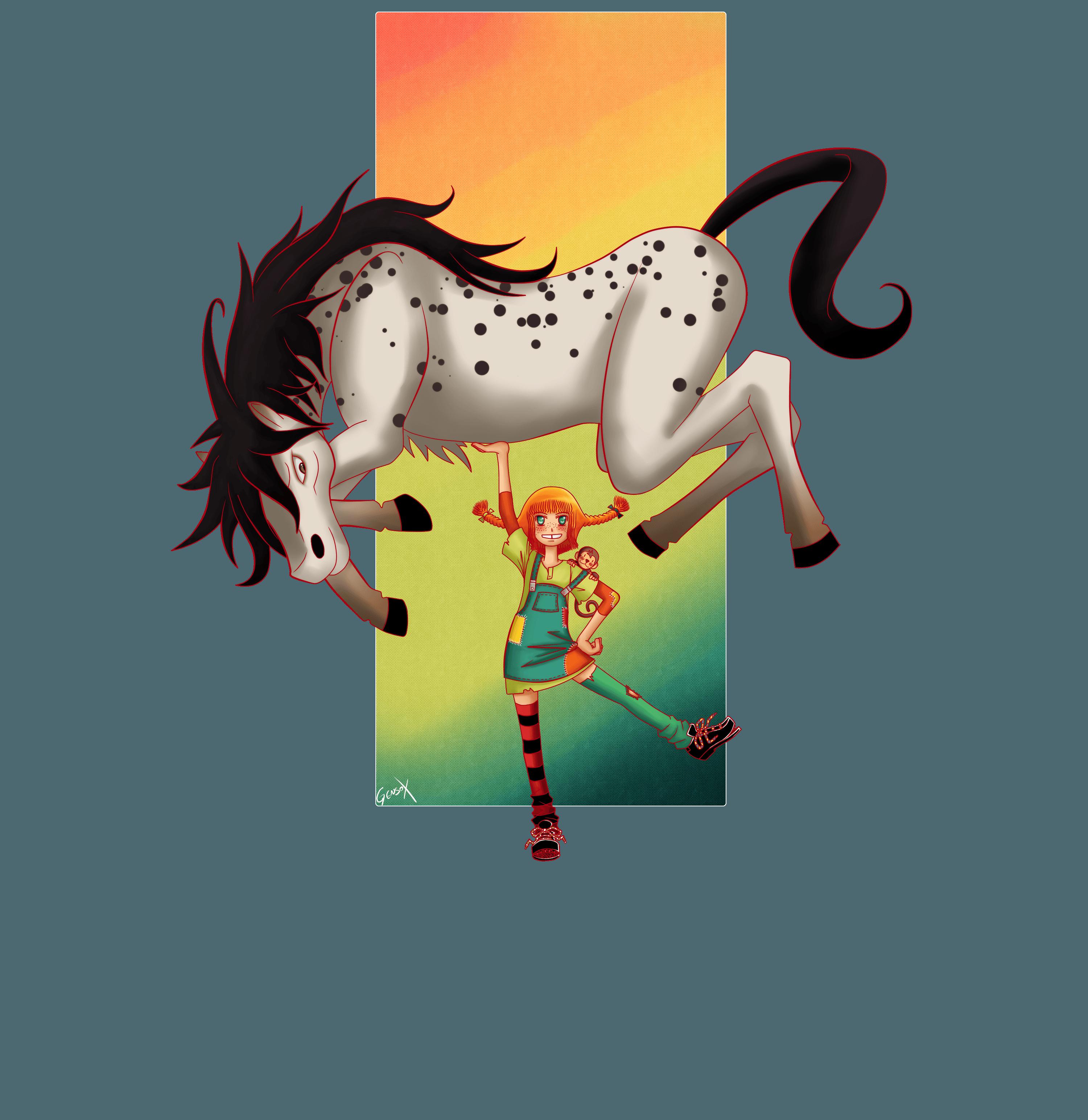 Pippi Longstocking Wallpapers Wallpaper Cave