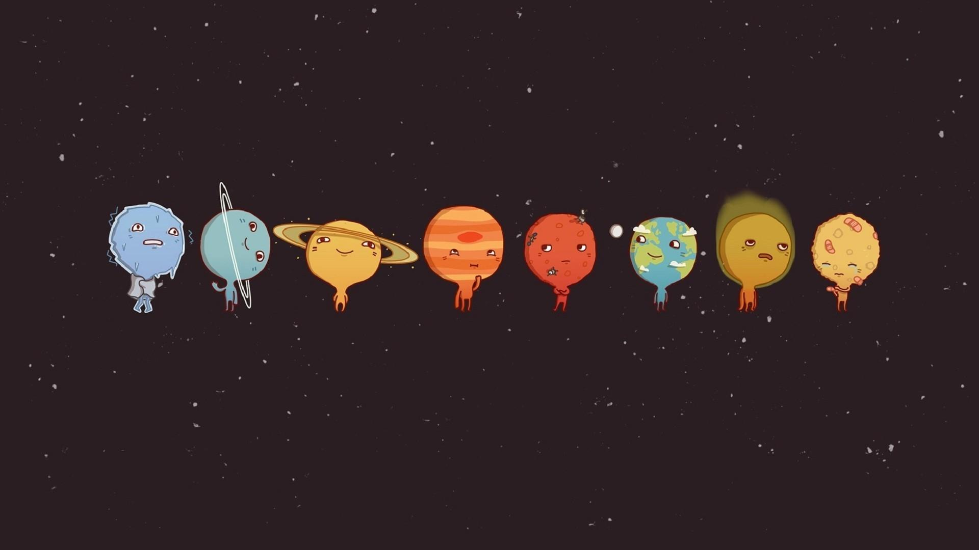 space, Sun, Pluto, Venus, Mercury, Earth, Mars, Moon, Solar System
