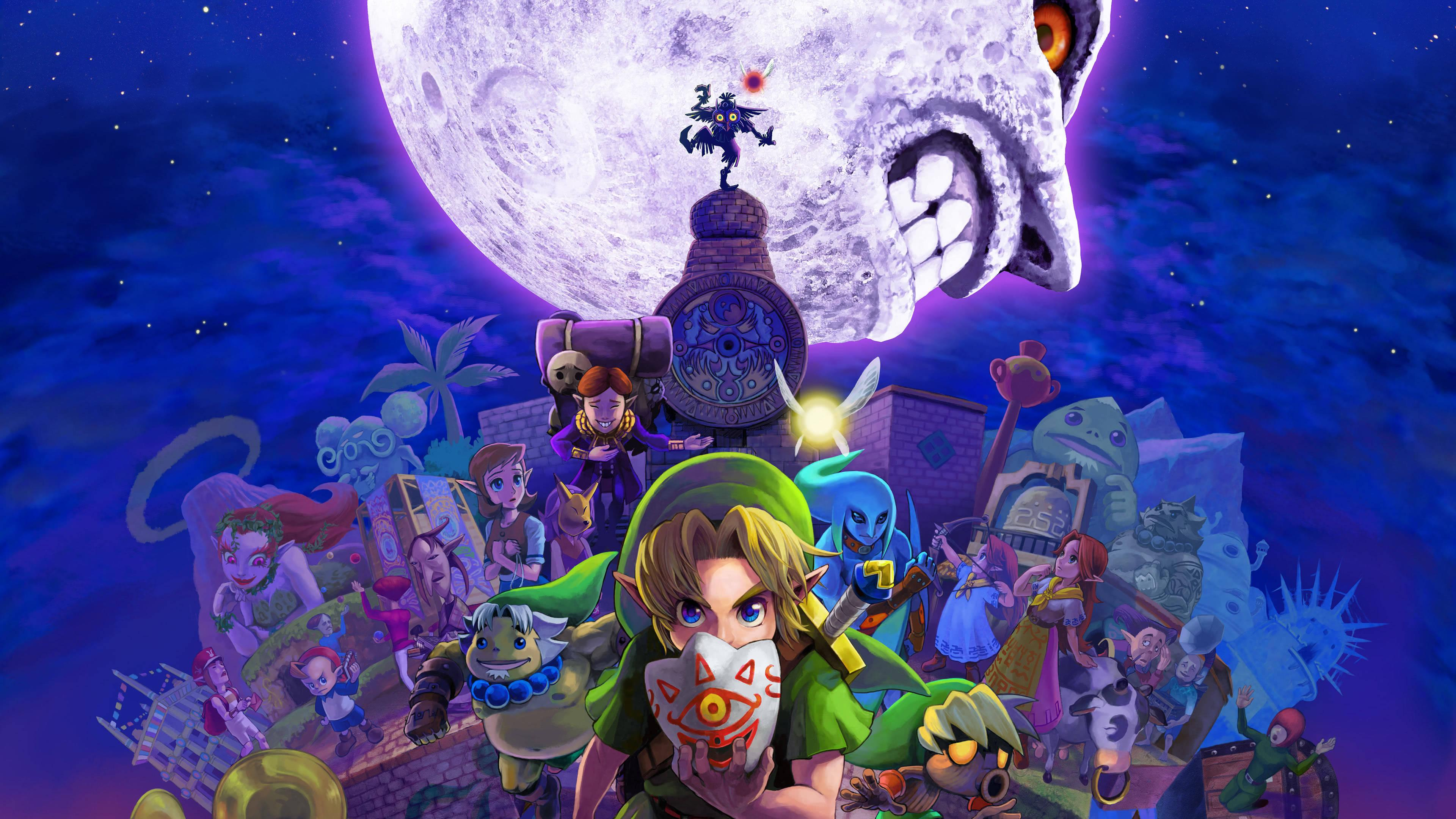 Legend of Zelda Majoras Mask UHD 4K Wallpapers