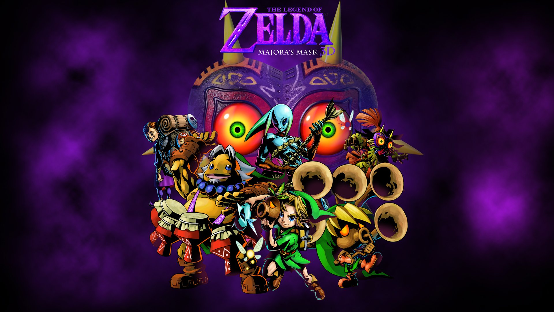The Legend Of Zelda: Majora's Mask HD Wallpapers and Backgrounds