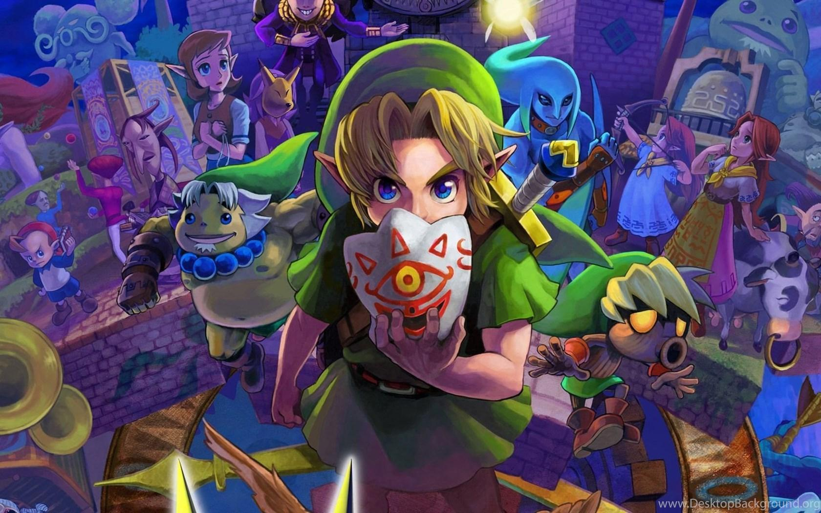 The Legend Of Zelda Majora's Mask Wallpapers 1080p Hd Desktop