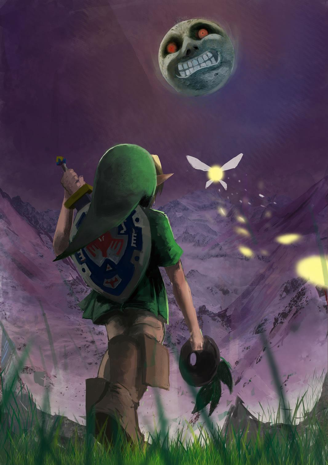 Zelda Majoras Mask Wallpapers ,free download,