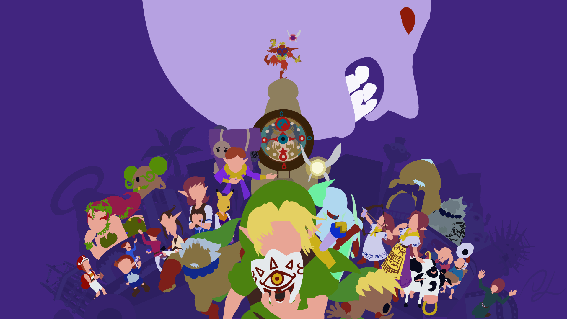 Zelda Majora's Mask Wallpapers