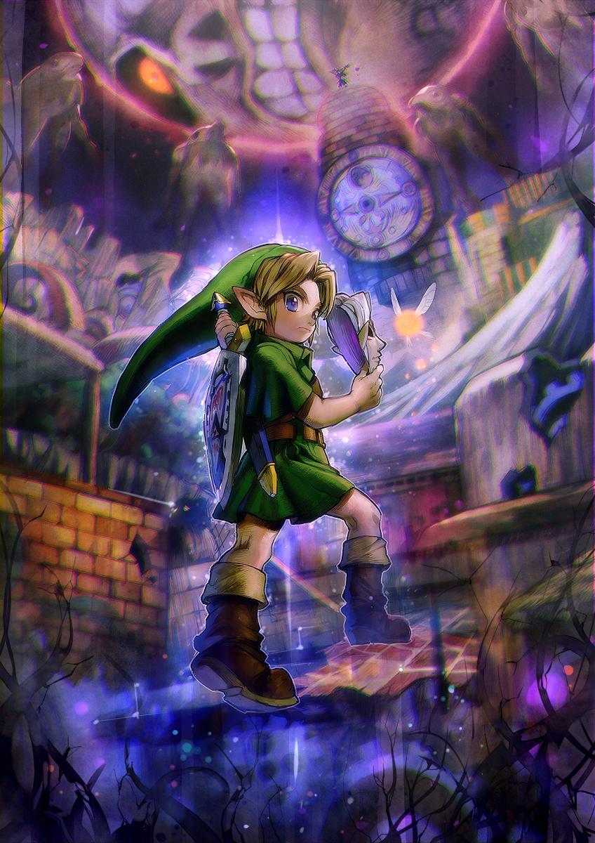 The Legend Of Zelda Majora S Mask Wallpapers Wallpaper Cave