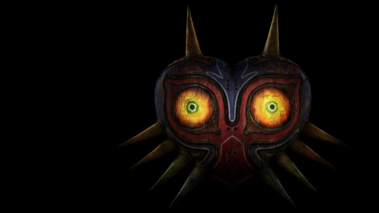 The Legend of Zelda masks black backgrounds The Legend of Zelda