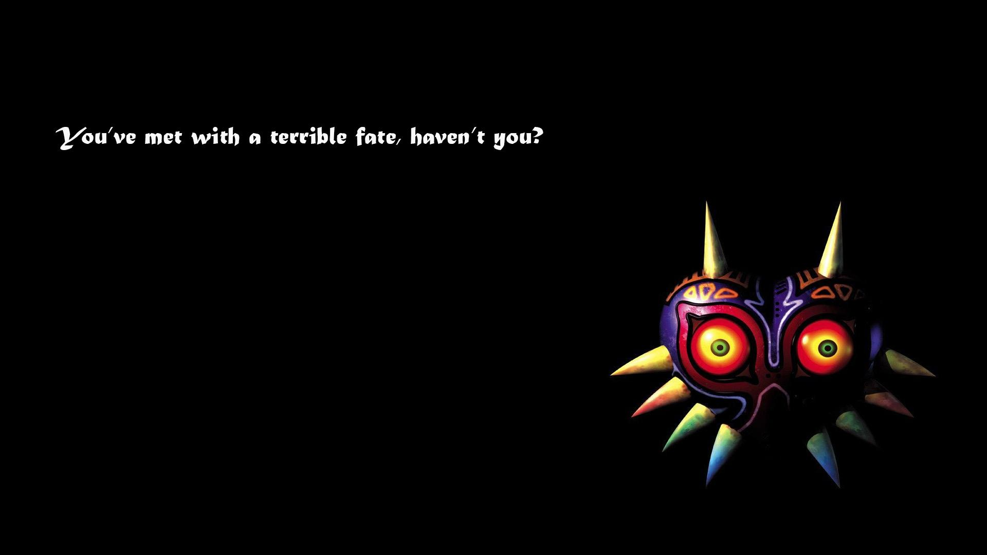 An awesome Majora's Mask wallpapers [OC
