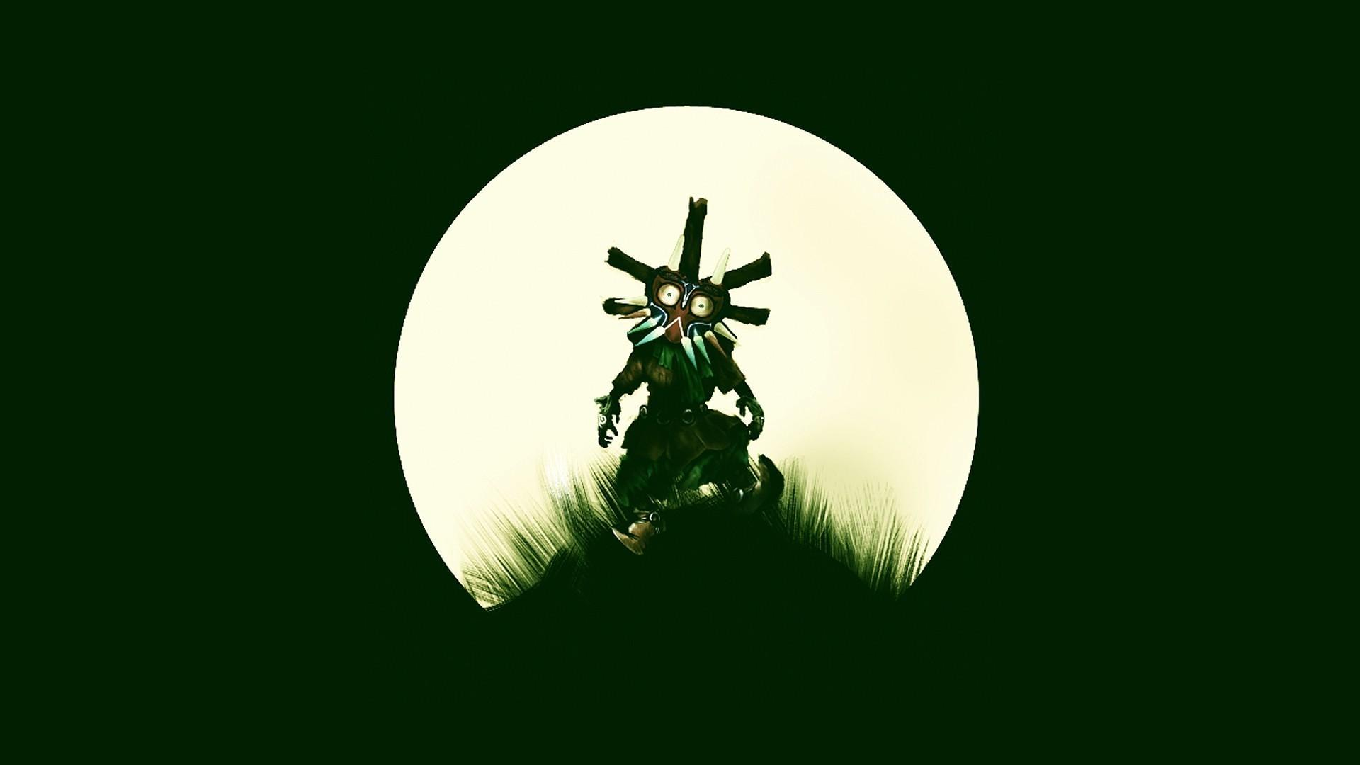 The Legend Of Zelda: Majora's Mask Full HD Wallpapers And