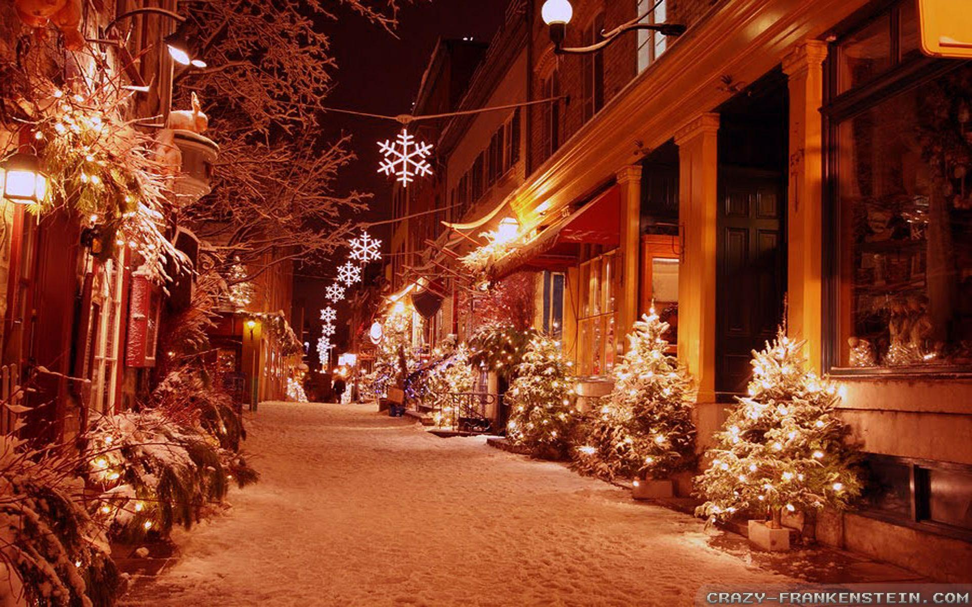 Outdoor Christmas Decorations wallpapers