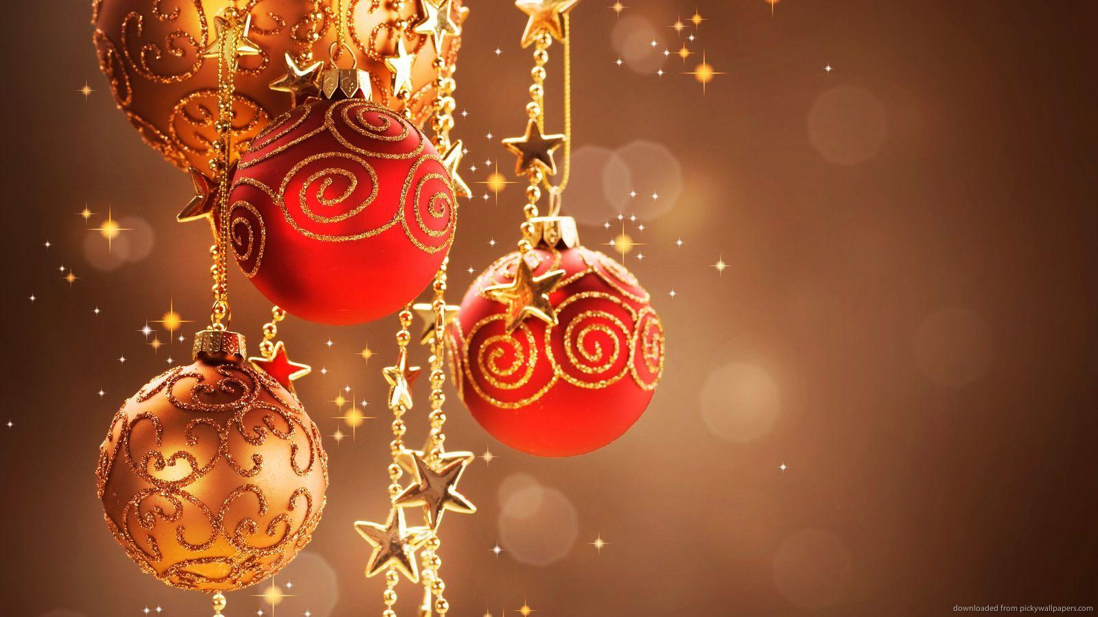 Download 1600x900 Christmas Decorations Ultra HD Wallpapers