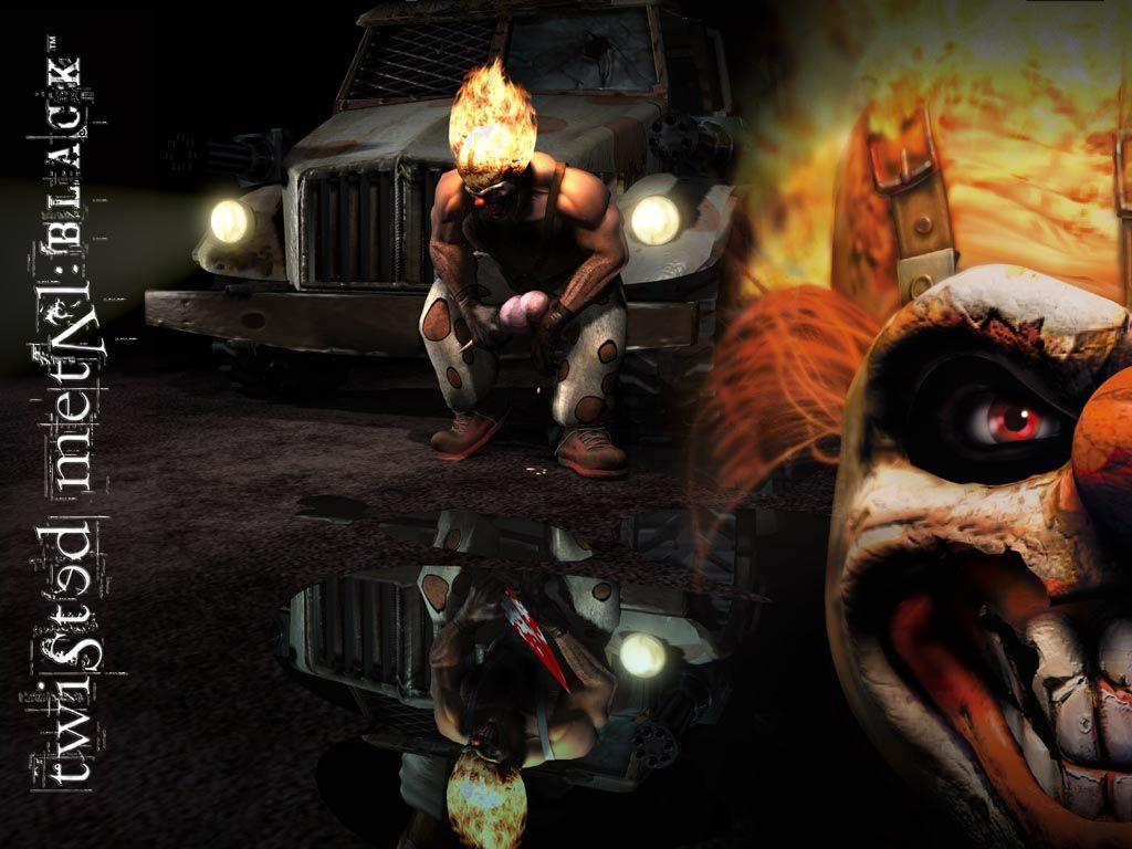 Twisted Metal Black Sweet Tooth Wallpapers - Wallpaper Cave