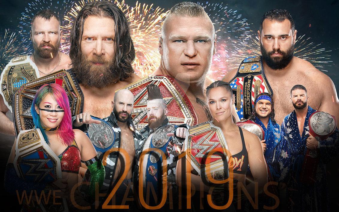 WWE 2019 Wallpapers